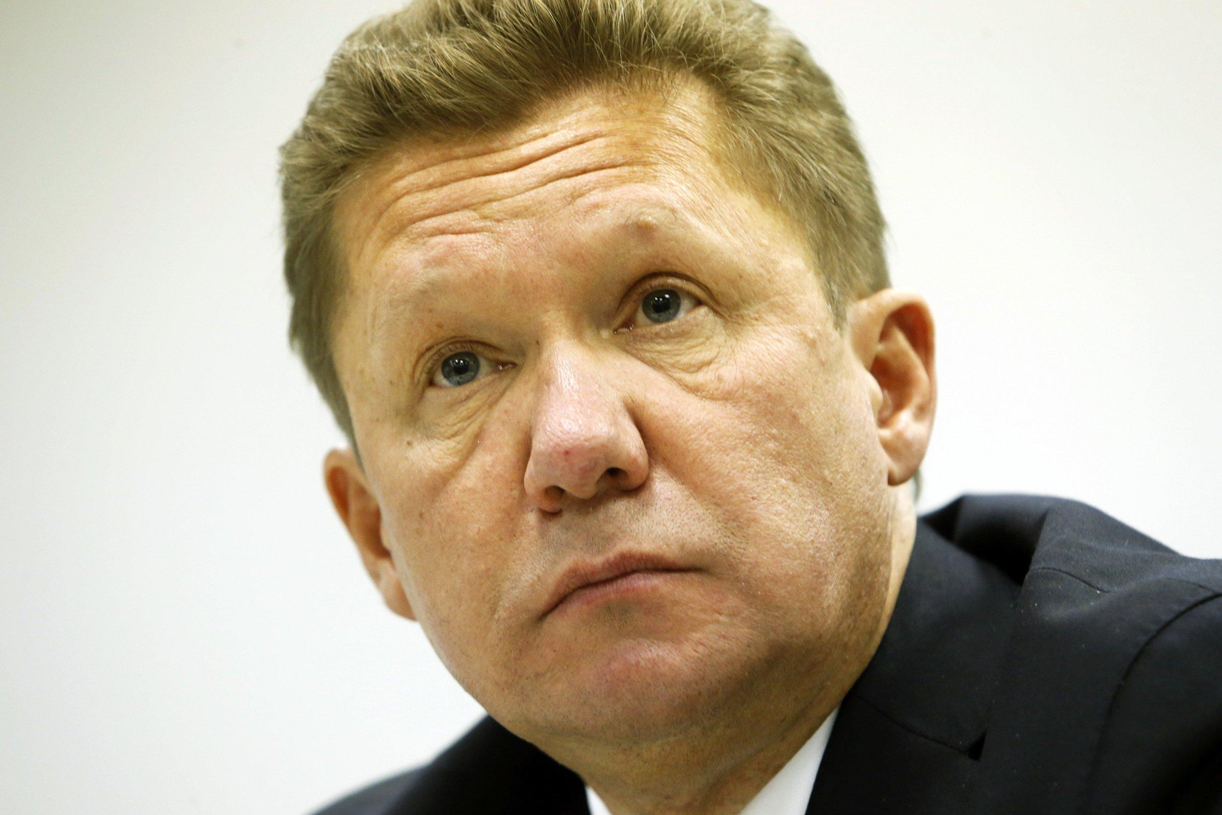 Alexei Miller Gazprom