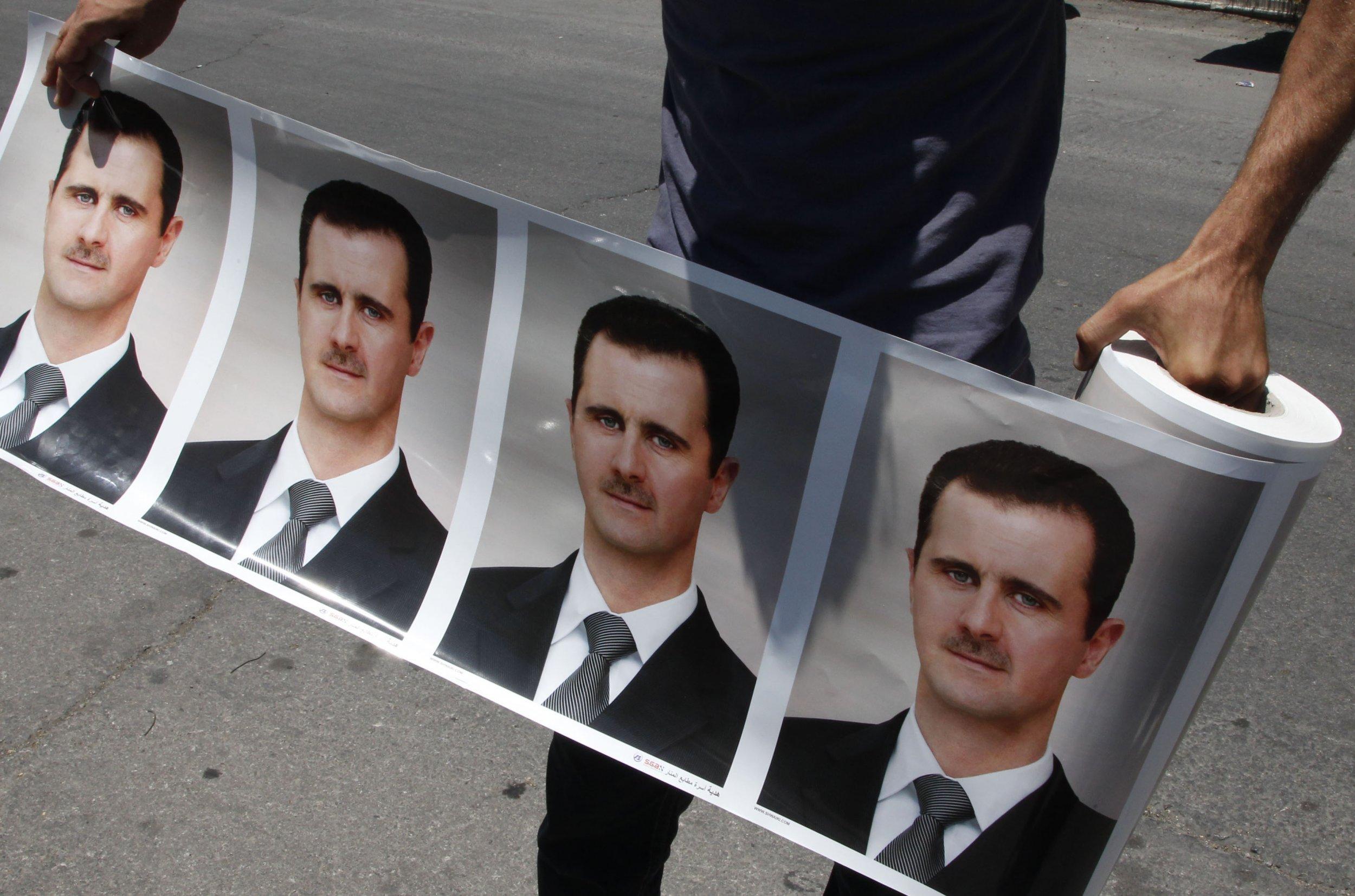 Assad photos