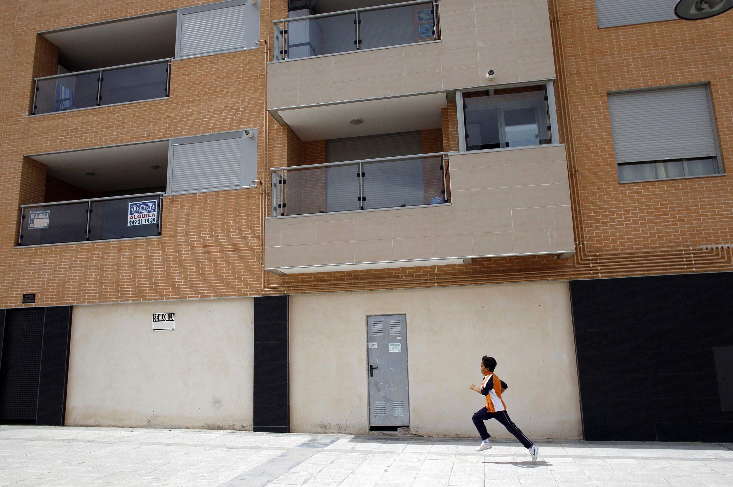 Кризис недвижимости в испании