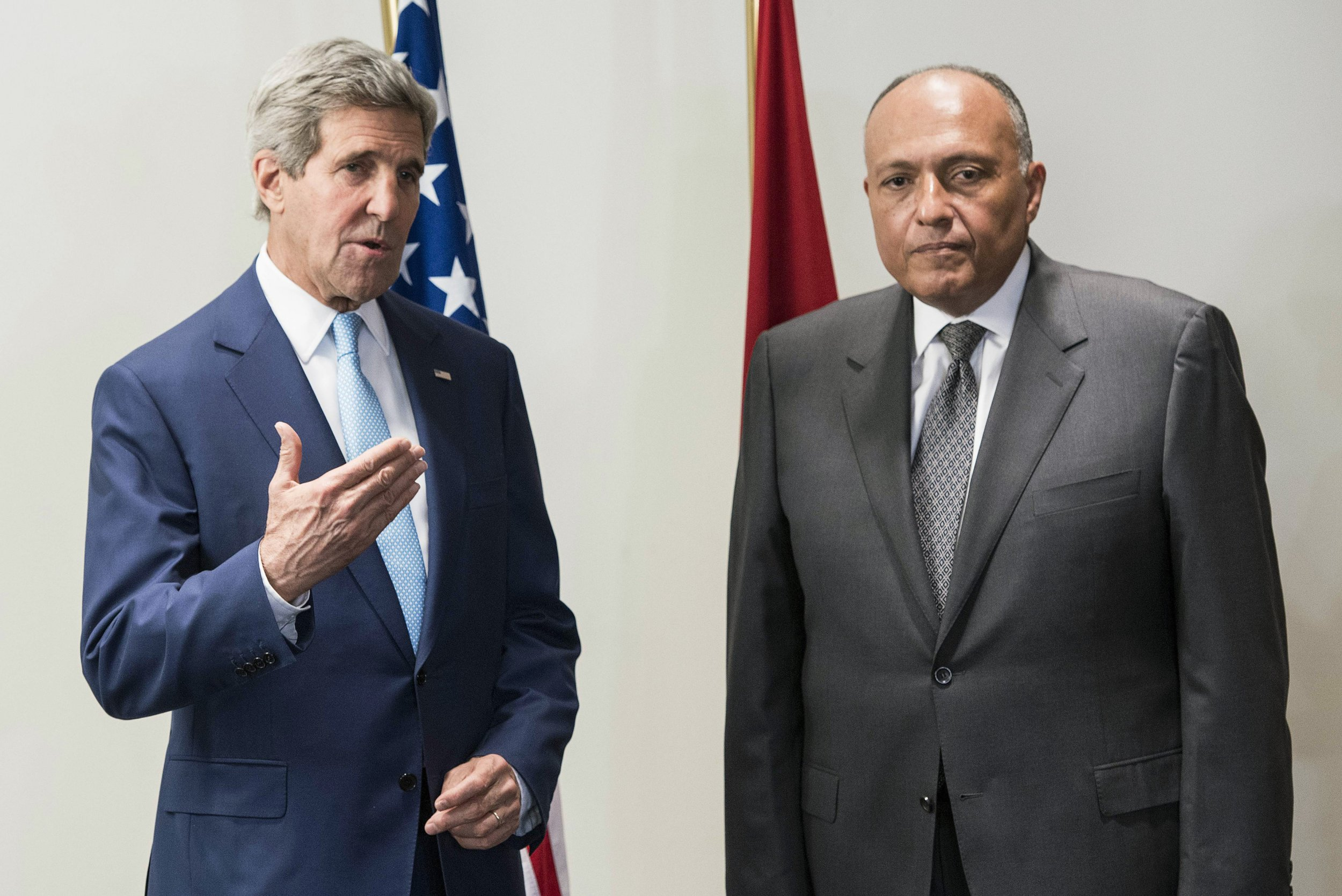 John Kerry in Cairo