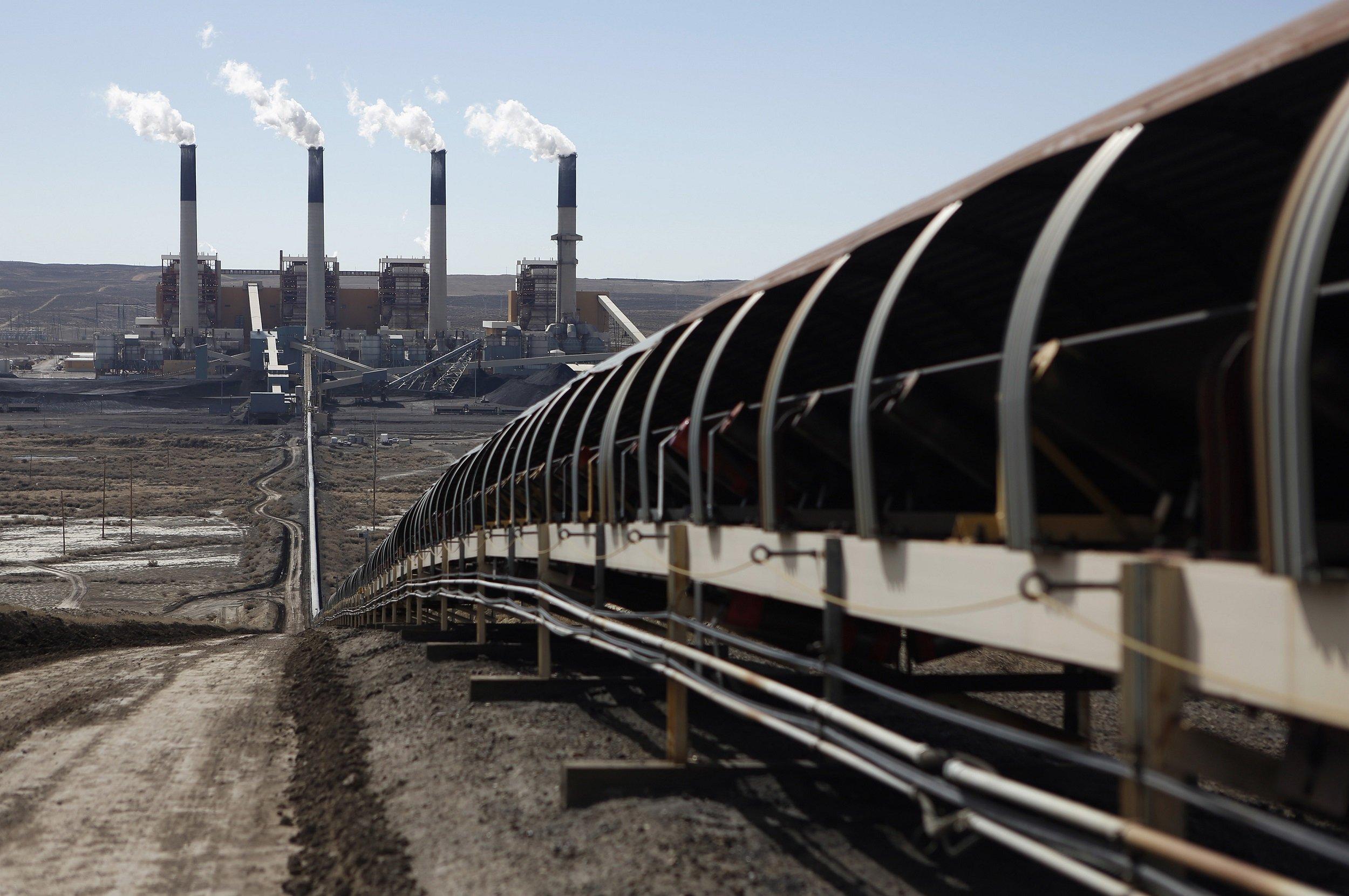 coal plant carbon