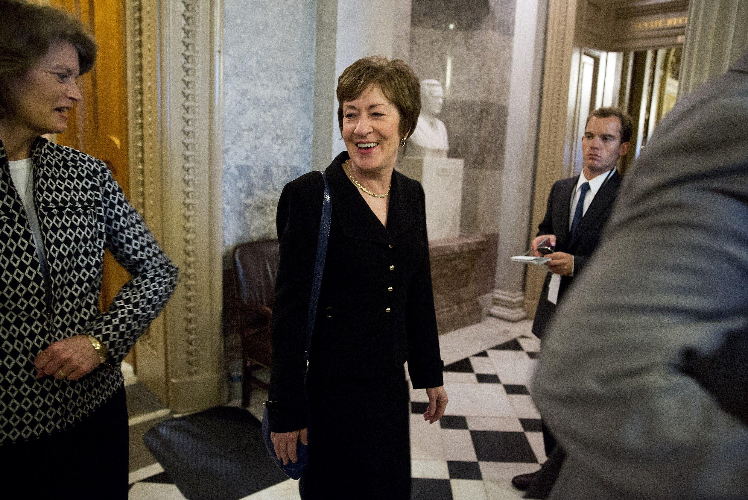 Senator Susan Collins of Maine