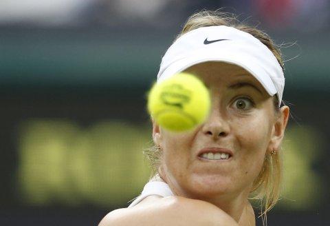 Maria Sharapova keeping her eye on the ball