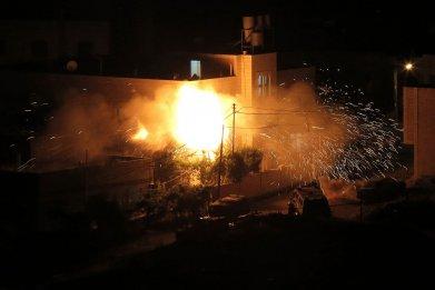 Blast in West Bank