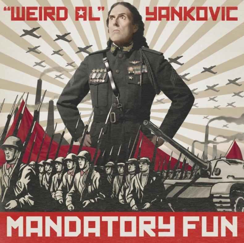 Mandatory Fun, Weird Al's new album.