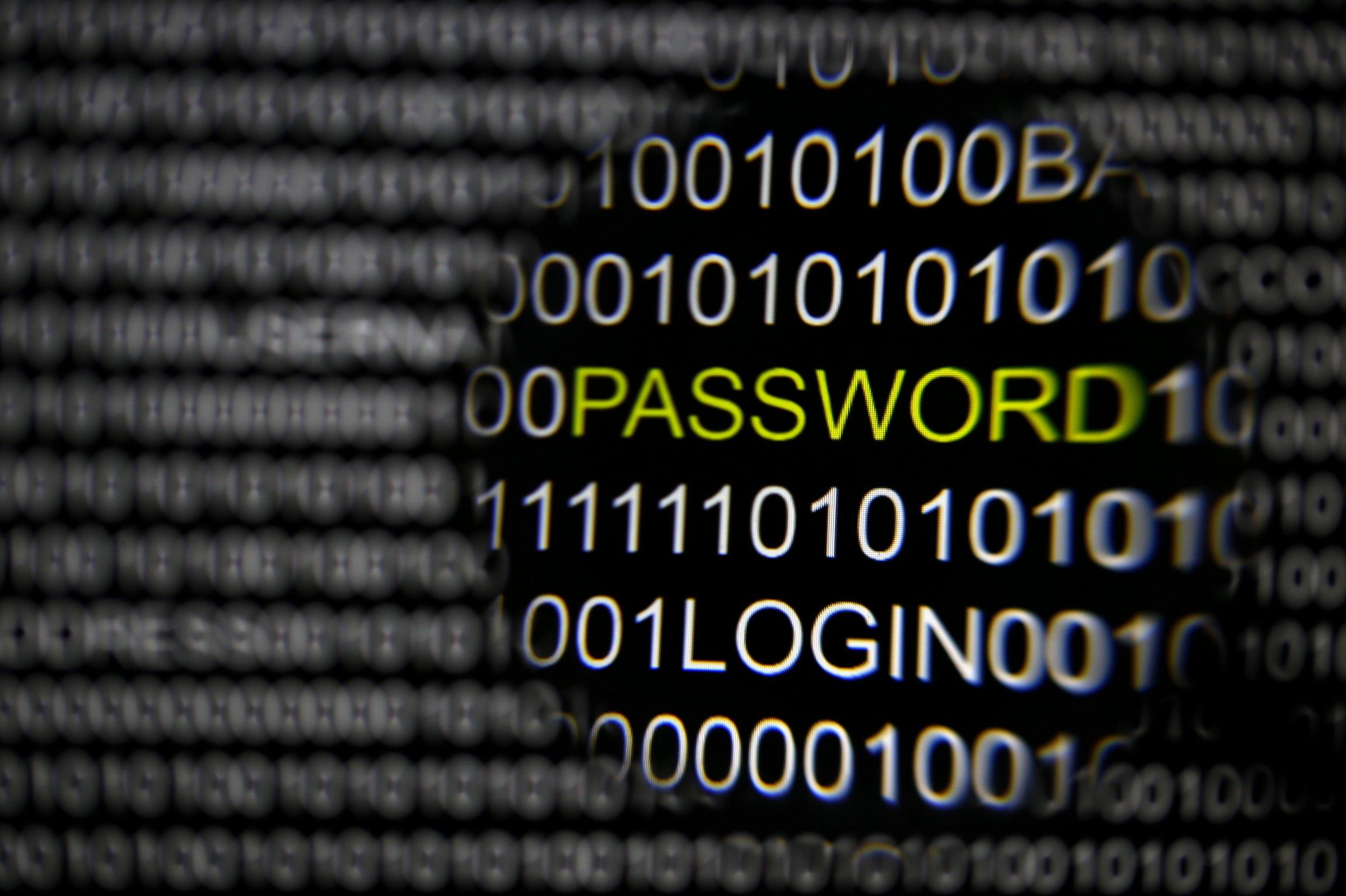 Hackers target passwords