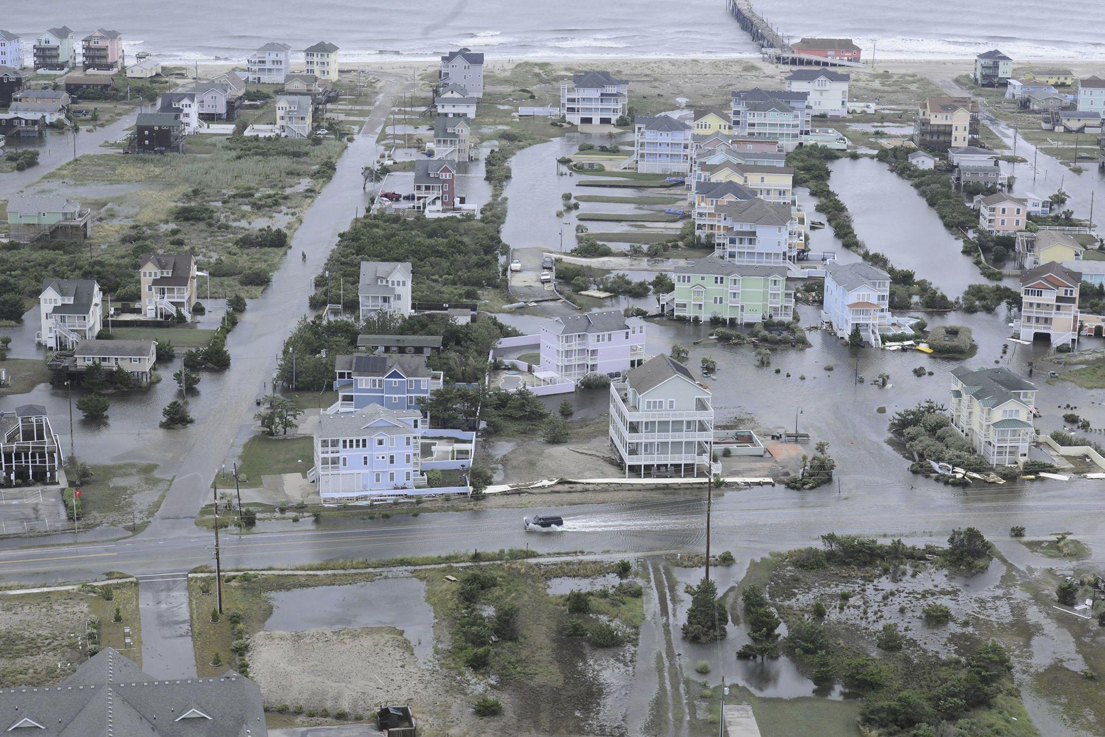 Winds From Hurricane Arthur Wallop Massachusetts
