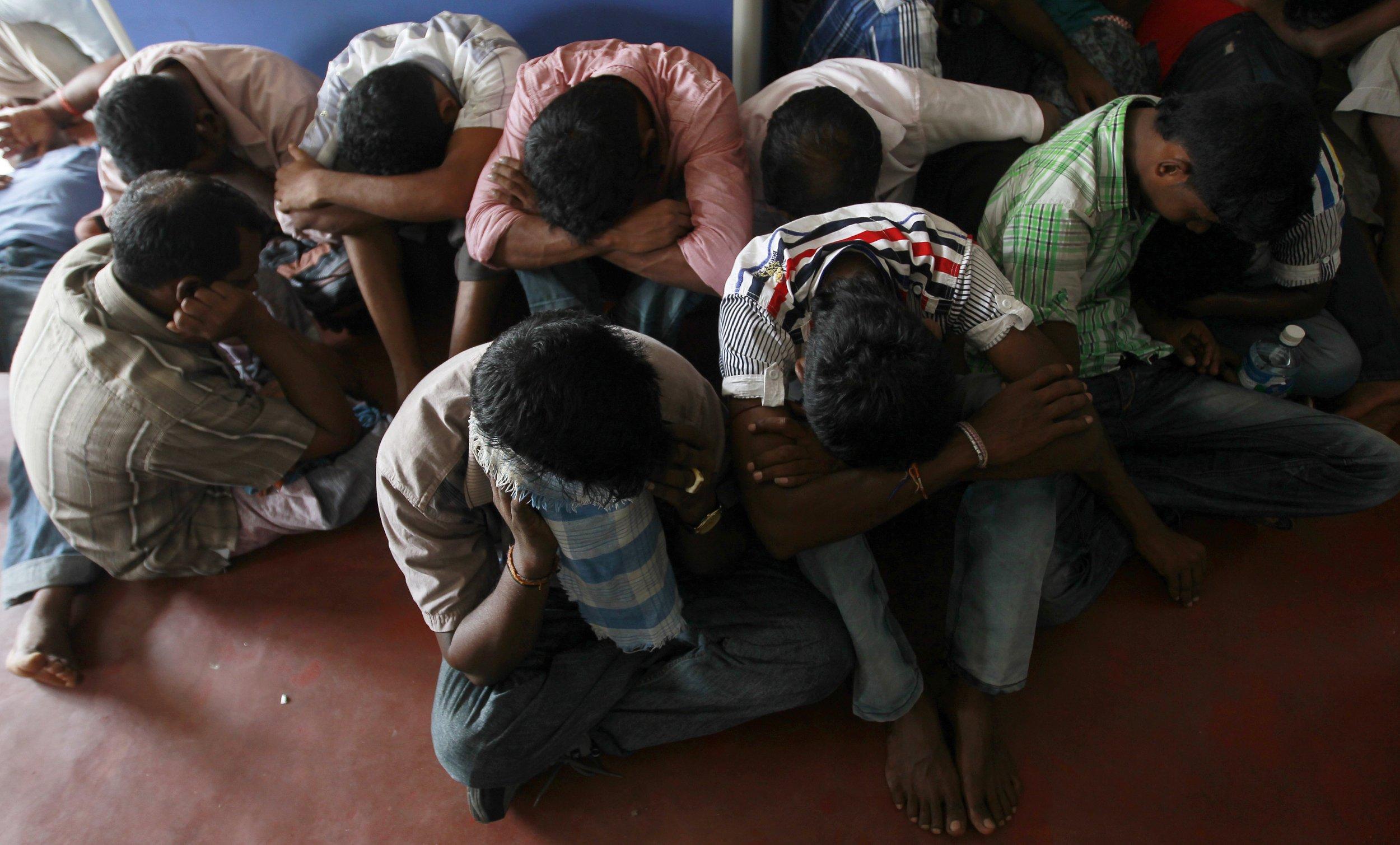 Sri Lankan asylum seekers