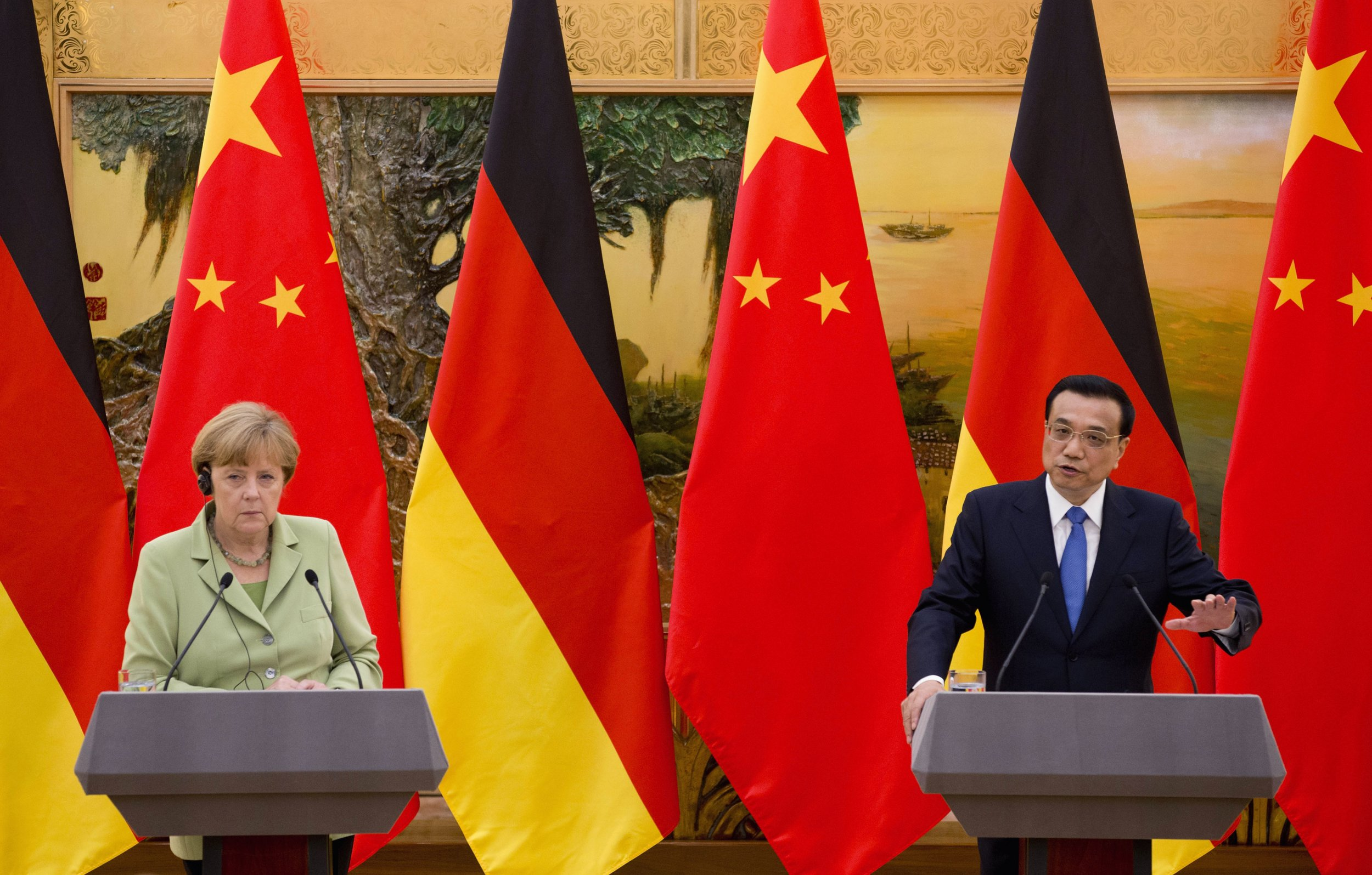 Merkel and Li