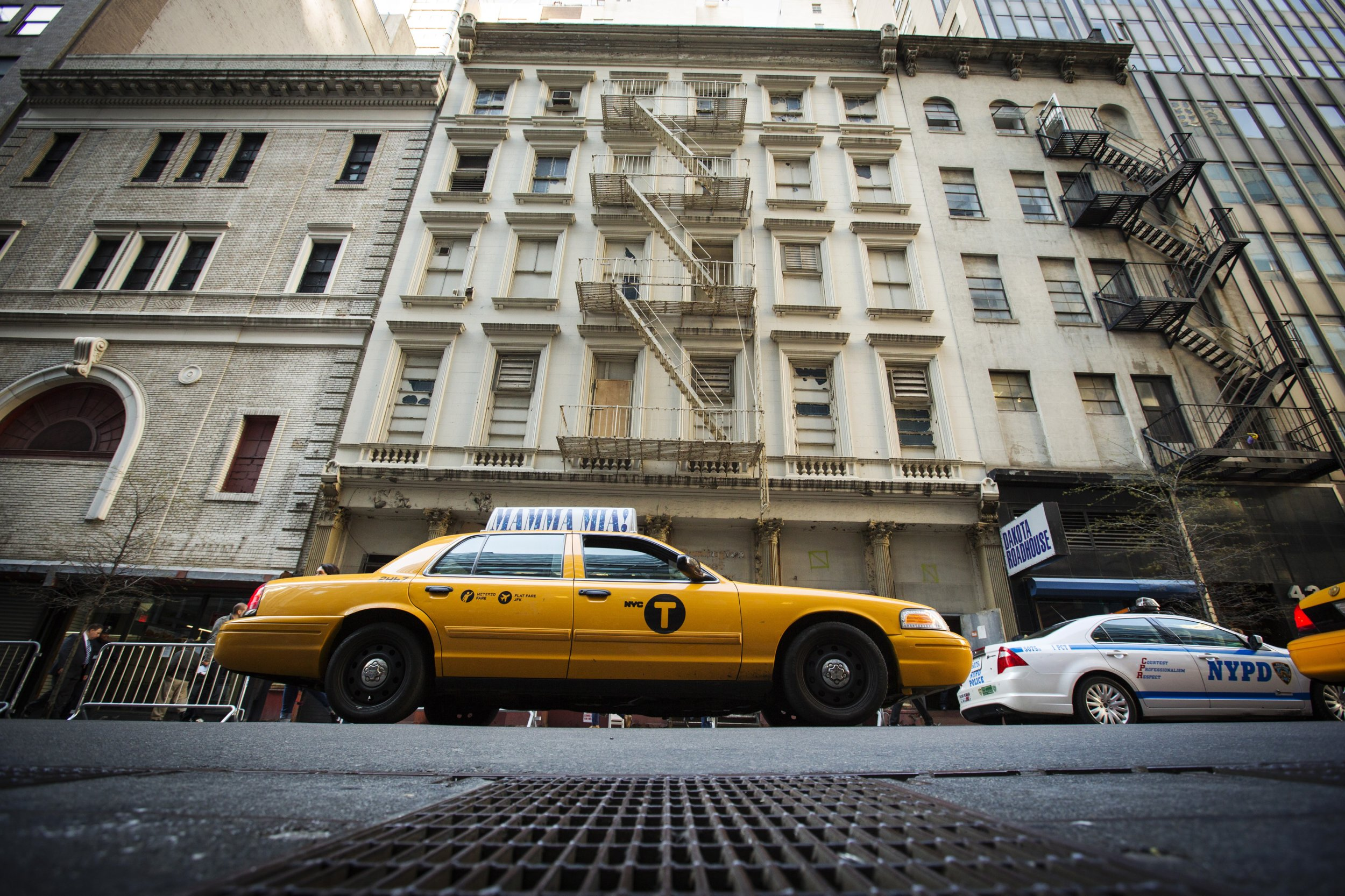 Taxi cab in New York City