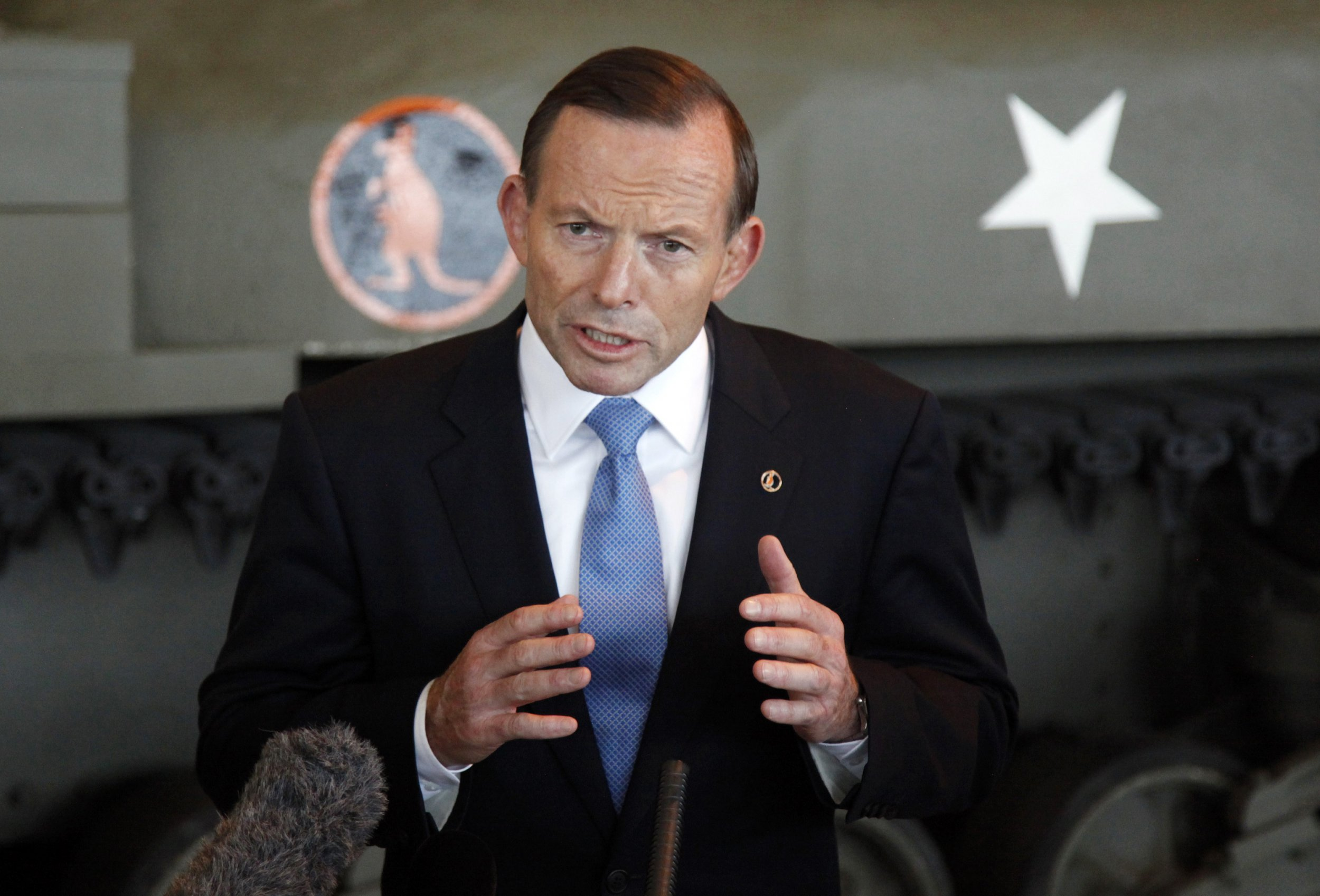 Tony Abbott in Ottawa