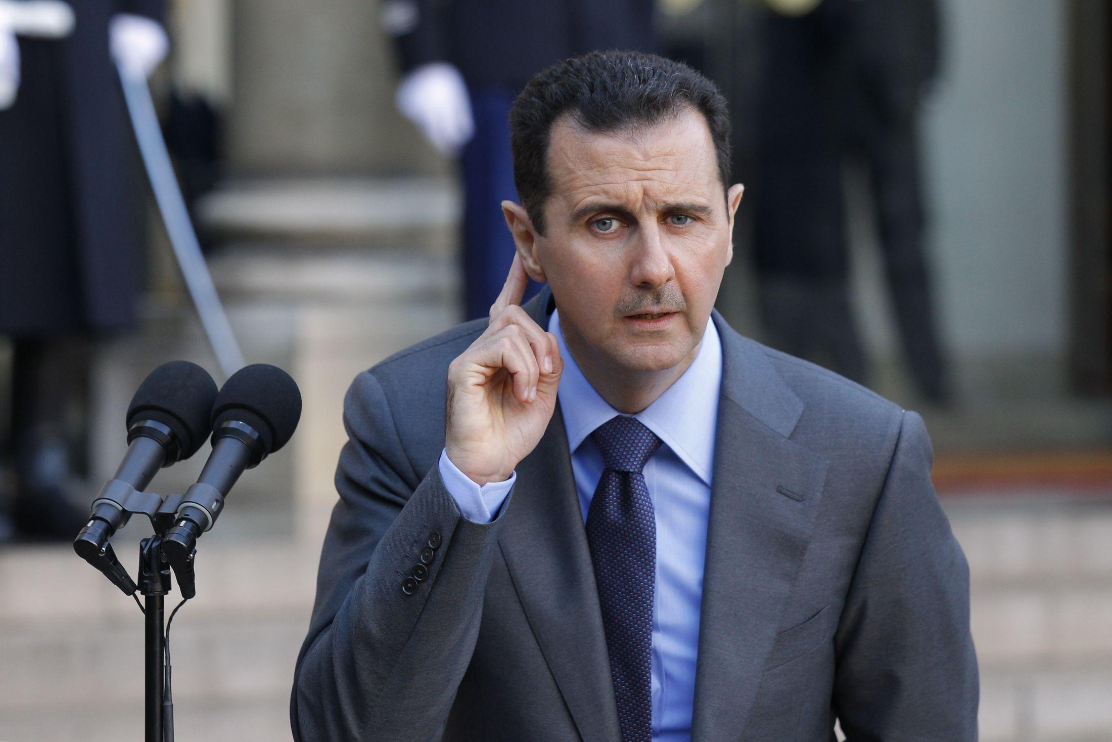 Assad in Paris