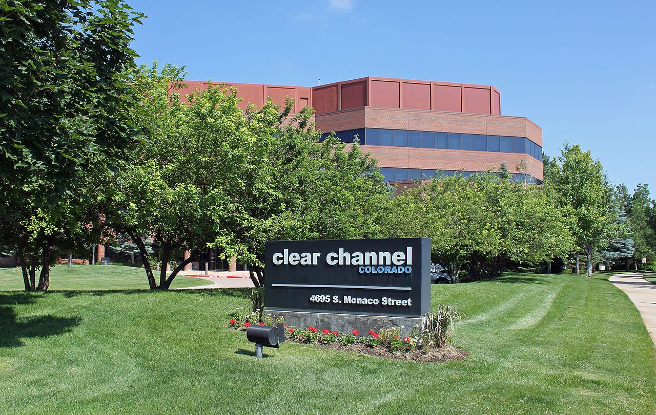 Clear Channel Communications' offices and studios in Denver, Colorado.