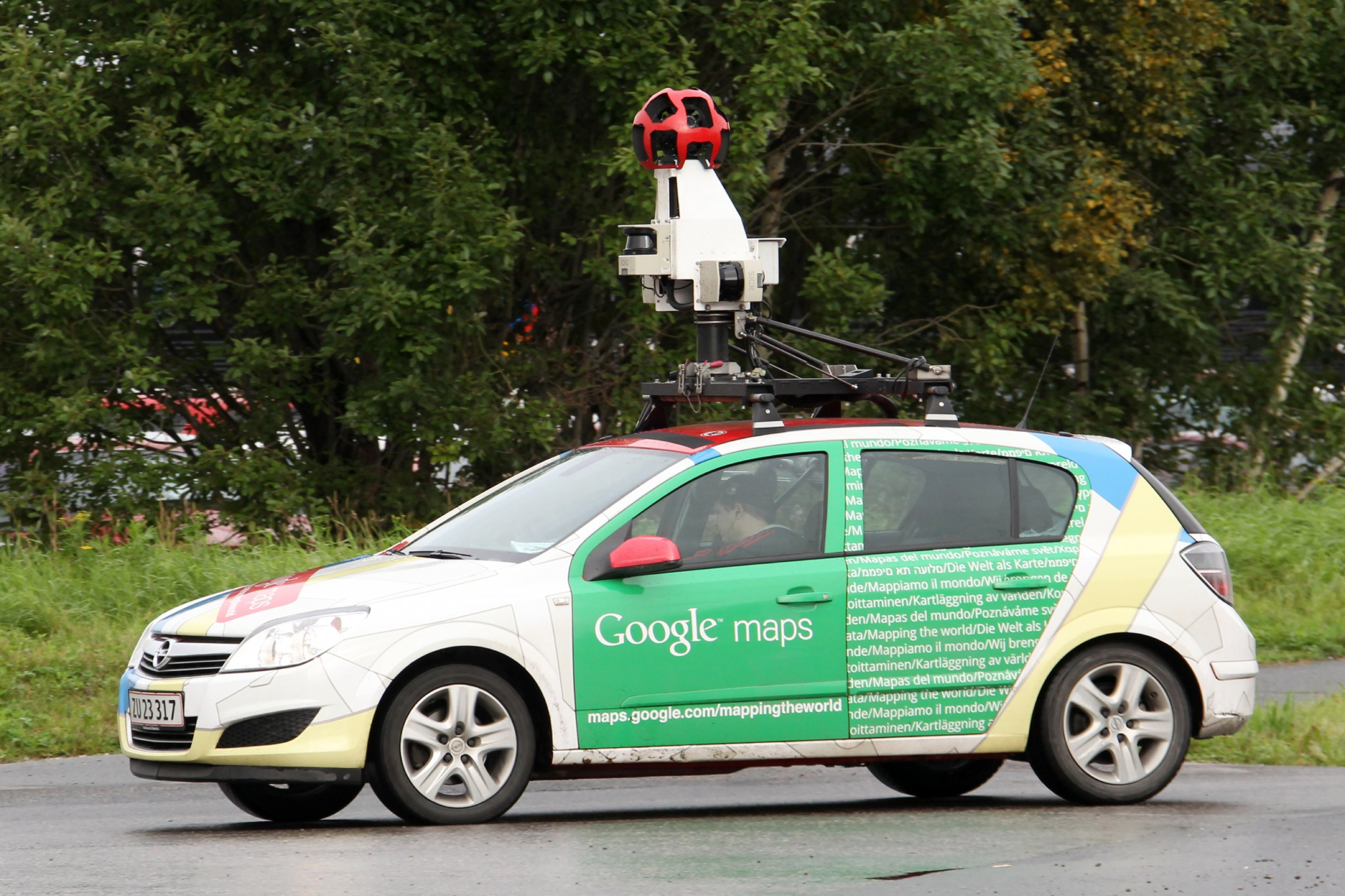 Google Street View Cars Want to Scan Your City for Gas Leaks on google earth camera car, google street view car, maps car with camera,