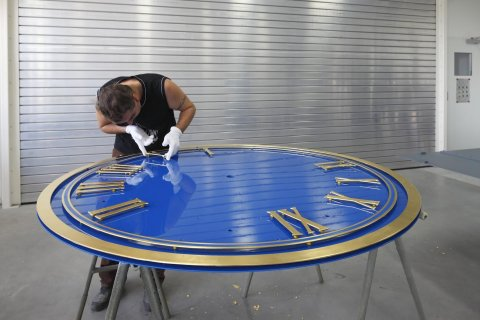 Clock manufacture in Germany