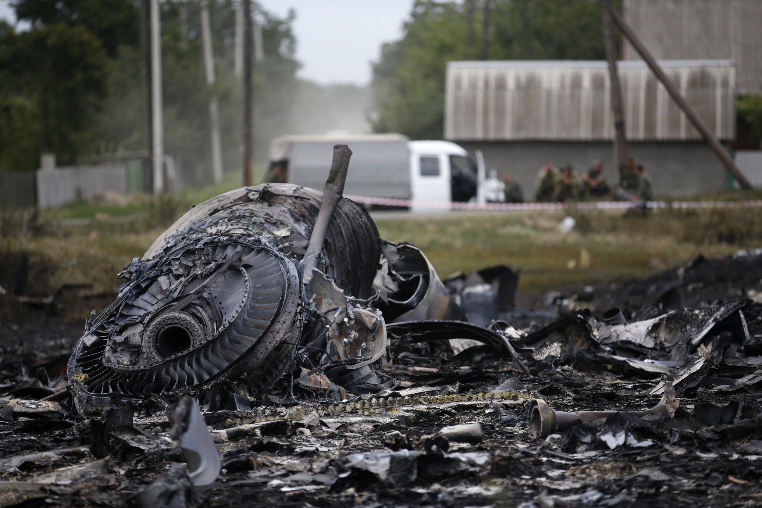 Malaysian Flight 17 debris