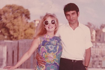 Deanne & Mahmoud Hajaj Honeymoon 1969_CHajaj