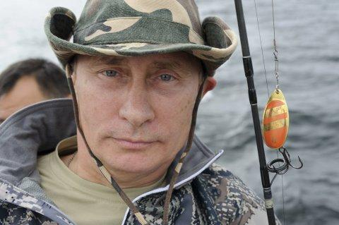 Putin fishing