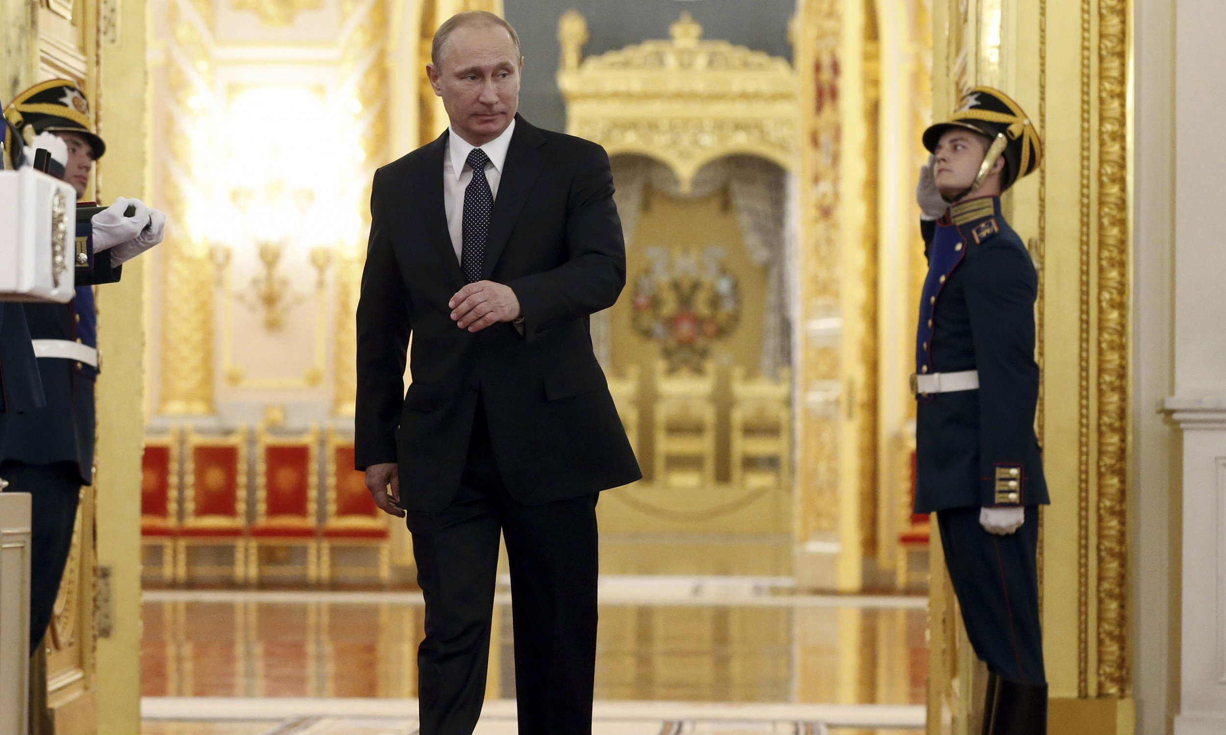 Putin in Moscow