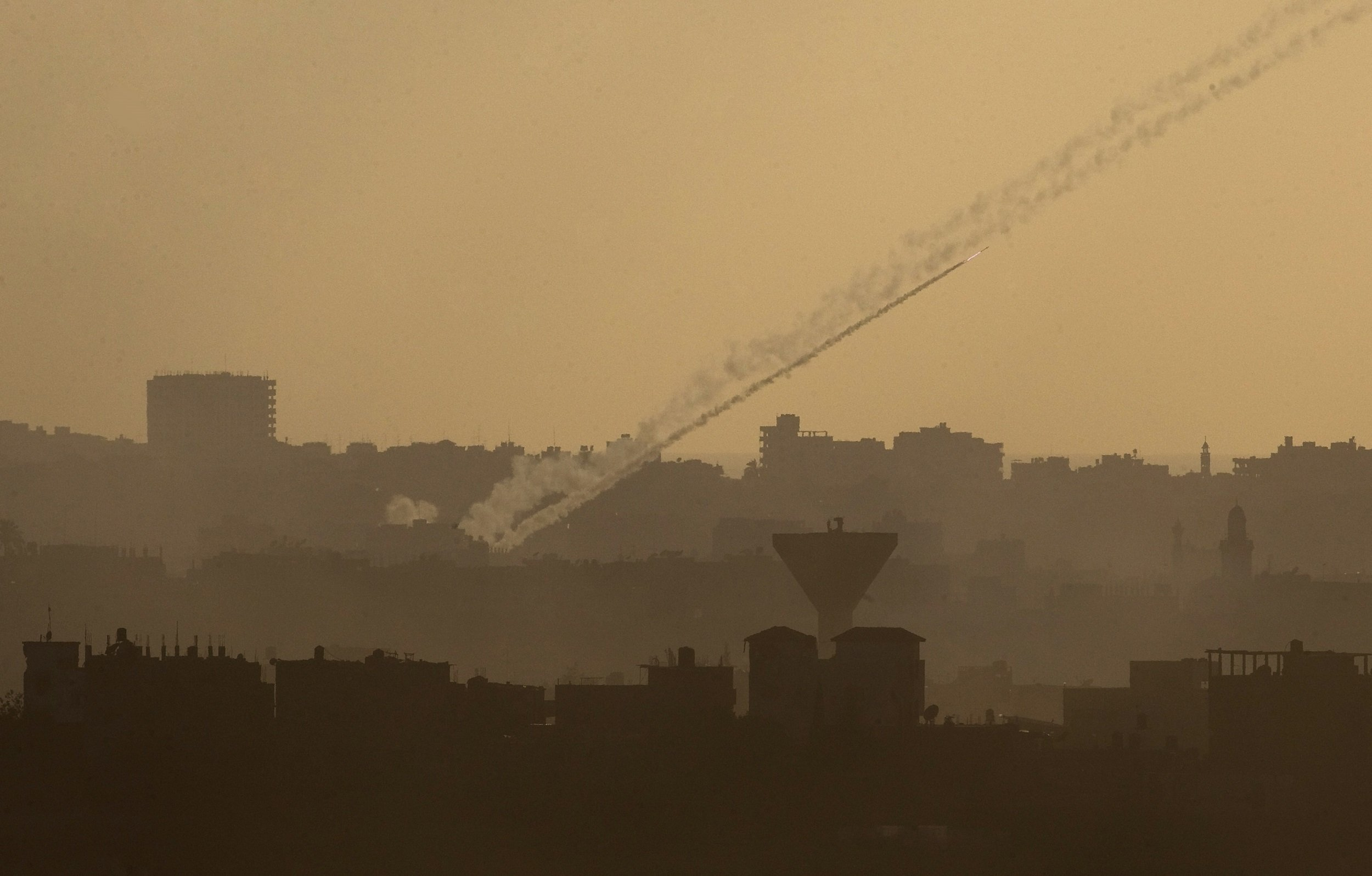 Gaza rocket fire Israel