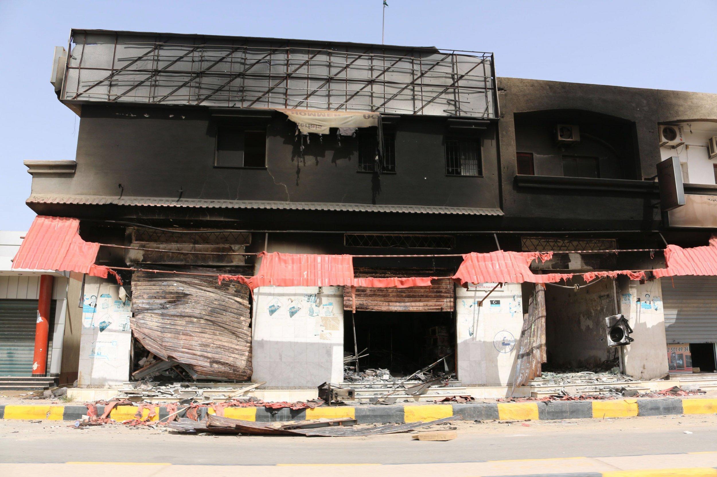 Tripoli shelling