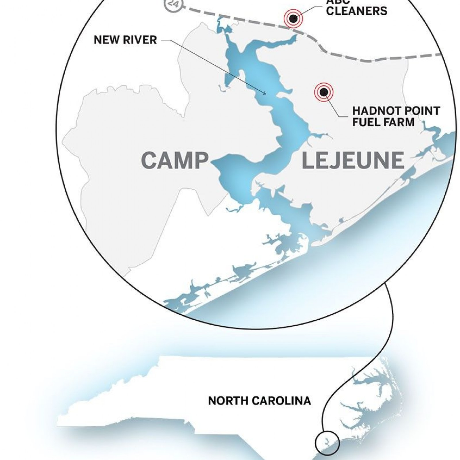 Camp Lejeune and the U.S. Military's Polluted Legacy on