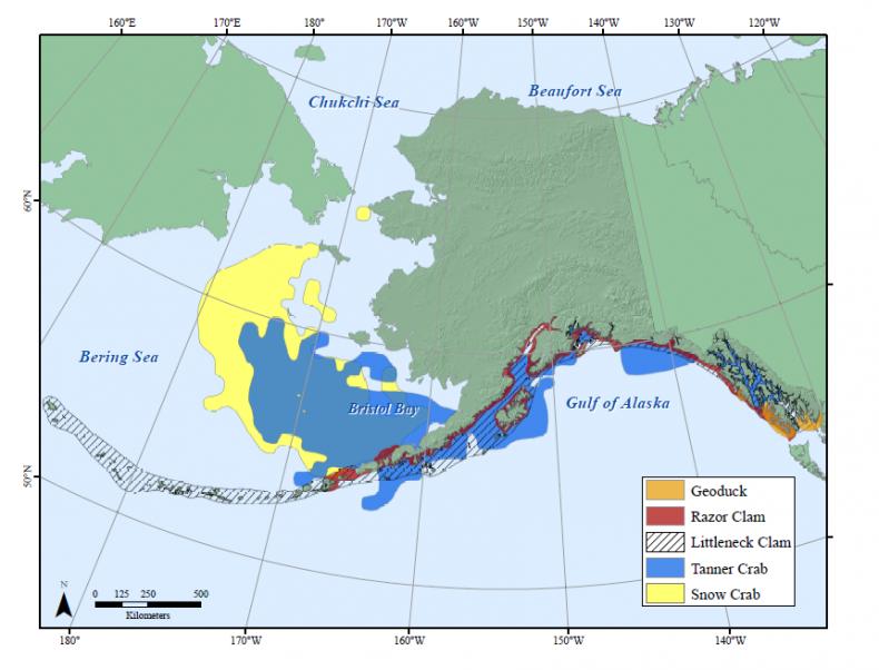 Alaska habitat map