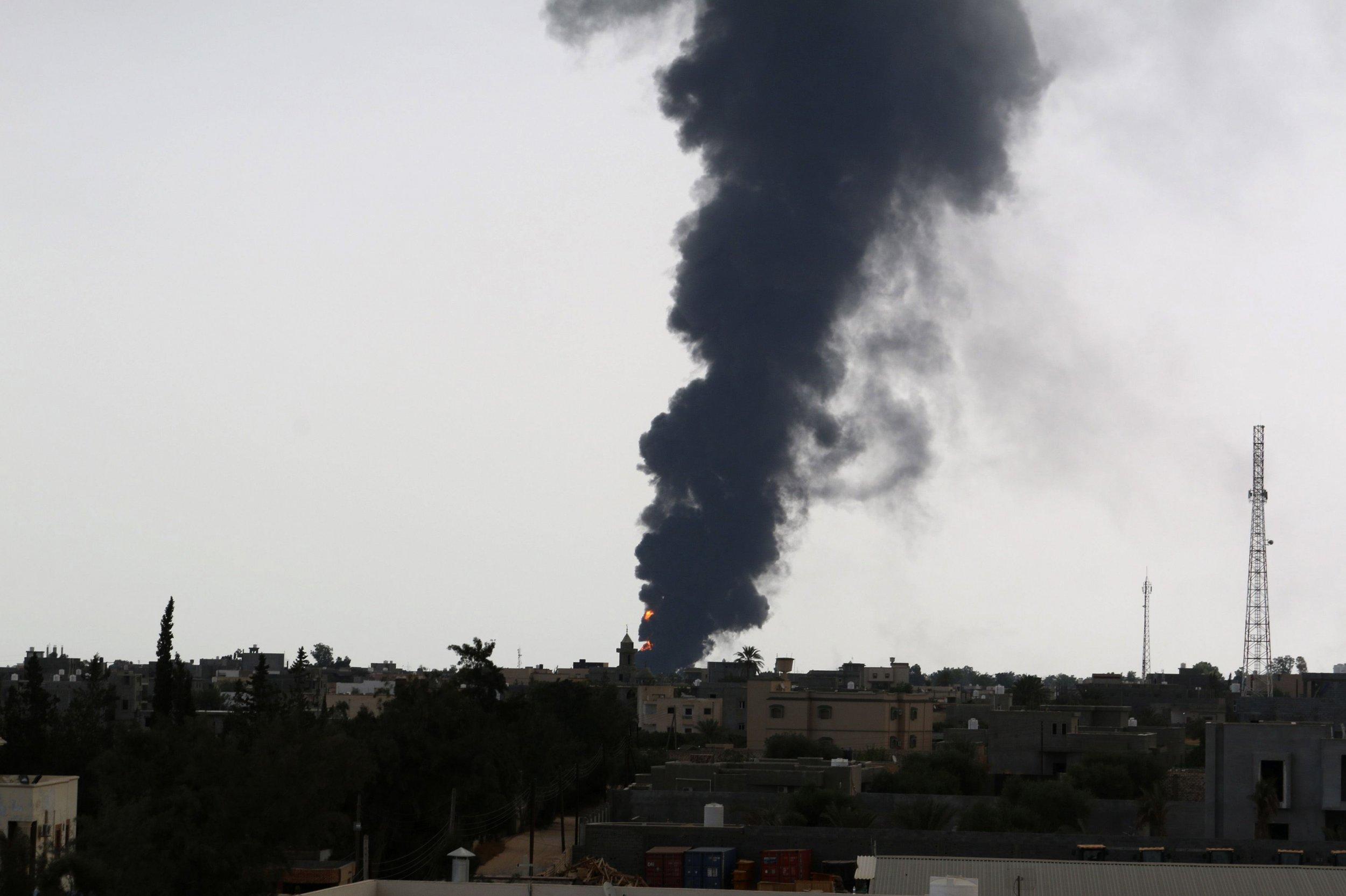 Tripoli blaze