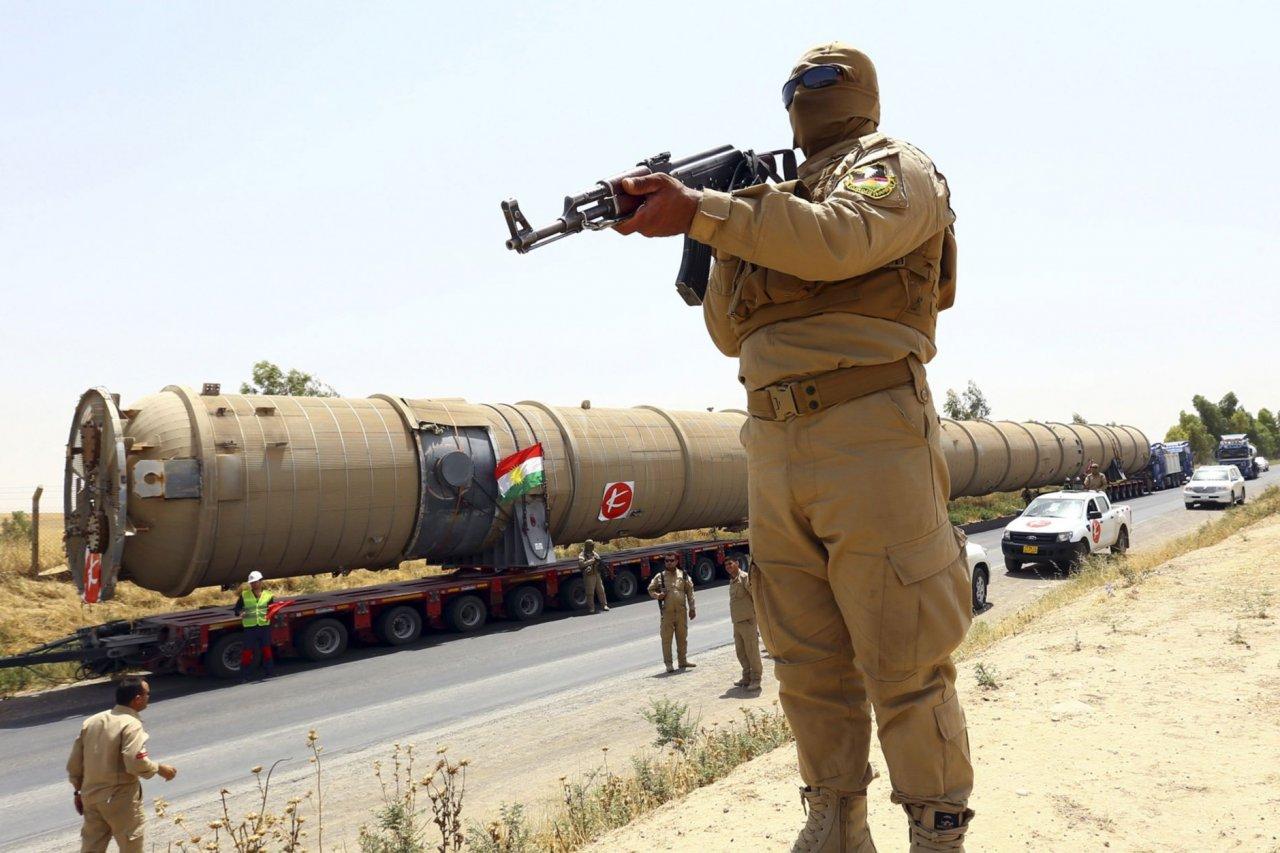 Kurdish security