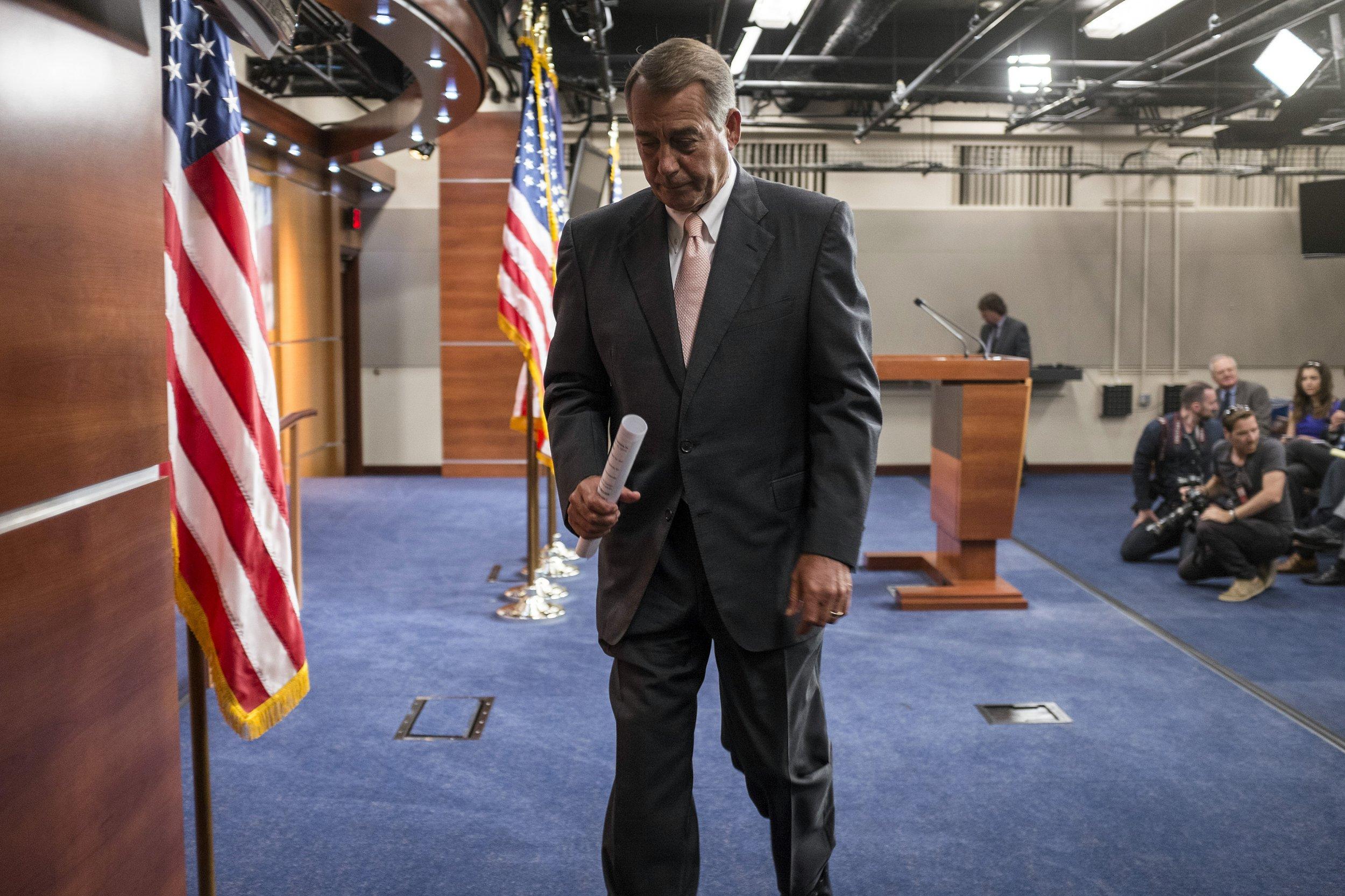 Sad Boehner