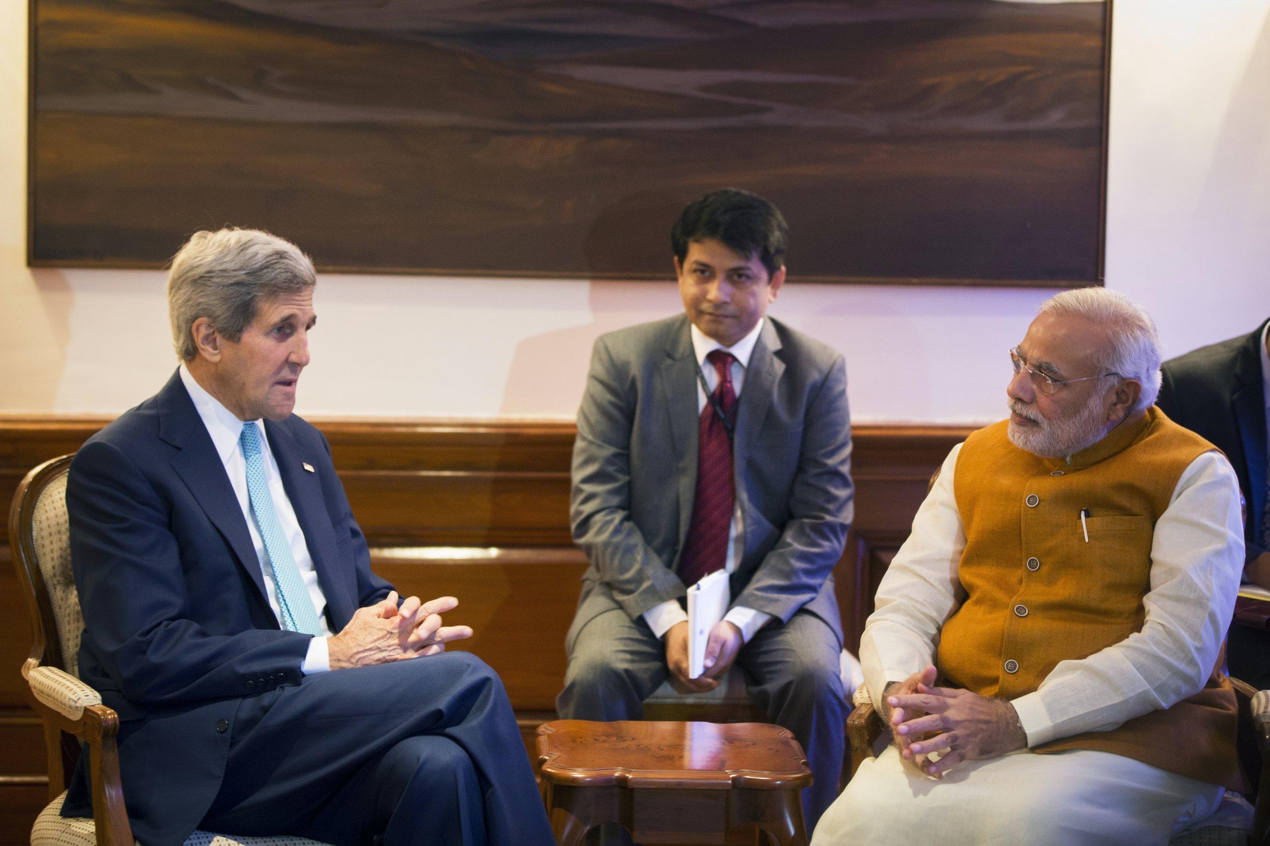 Kerry and Modi
