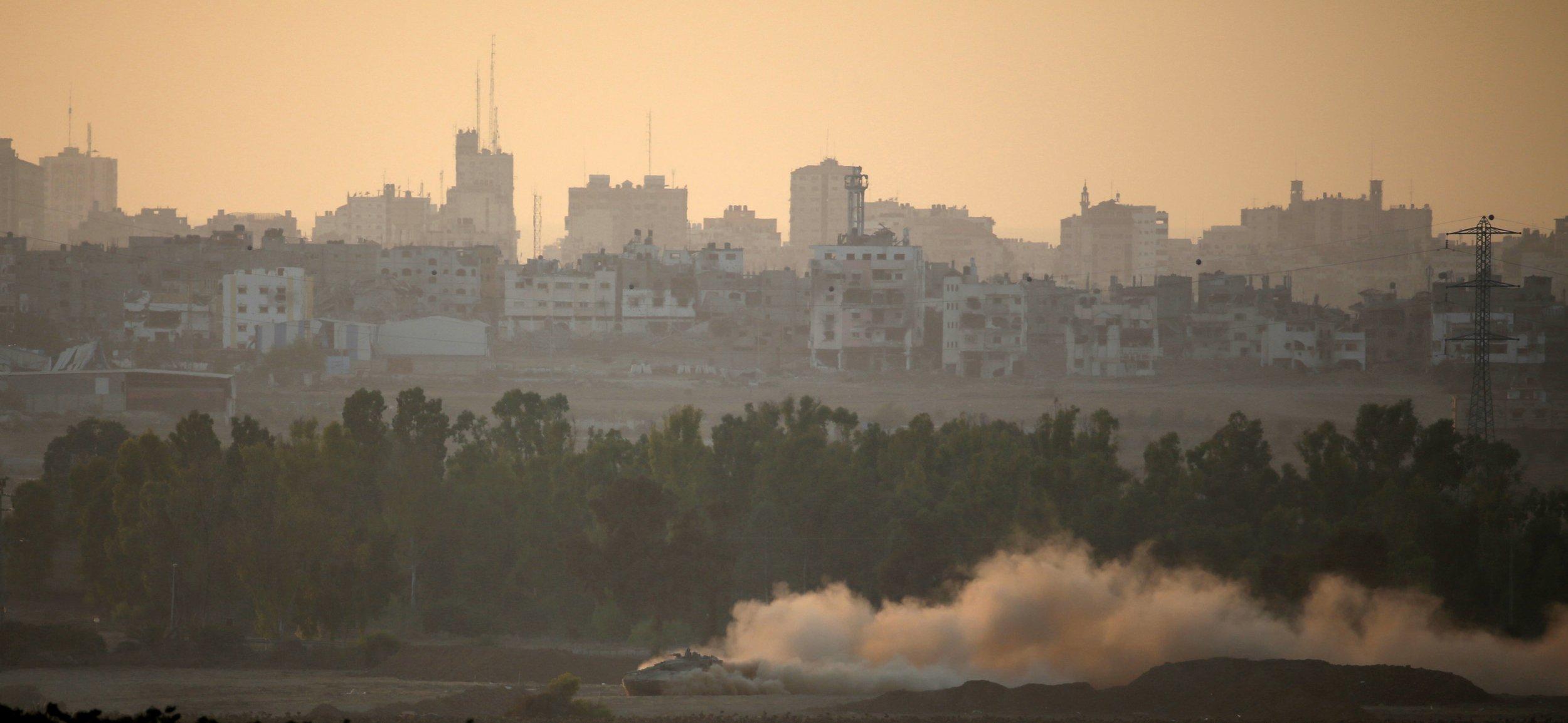 Returning from Gaza