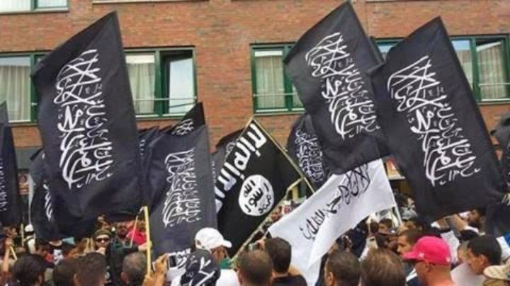 isis protest hague