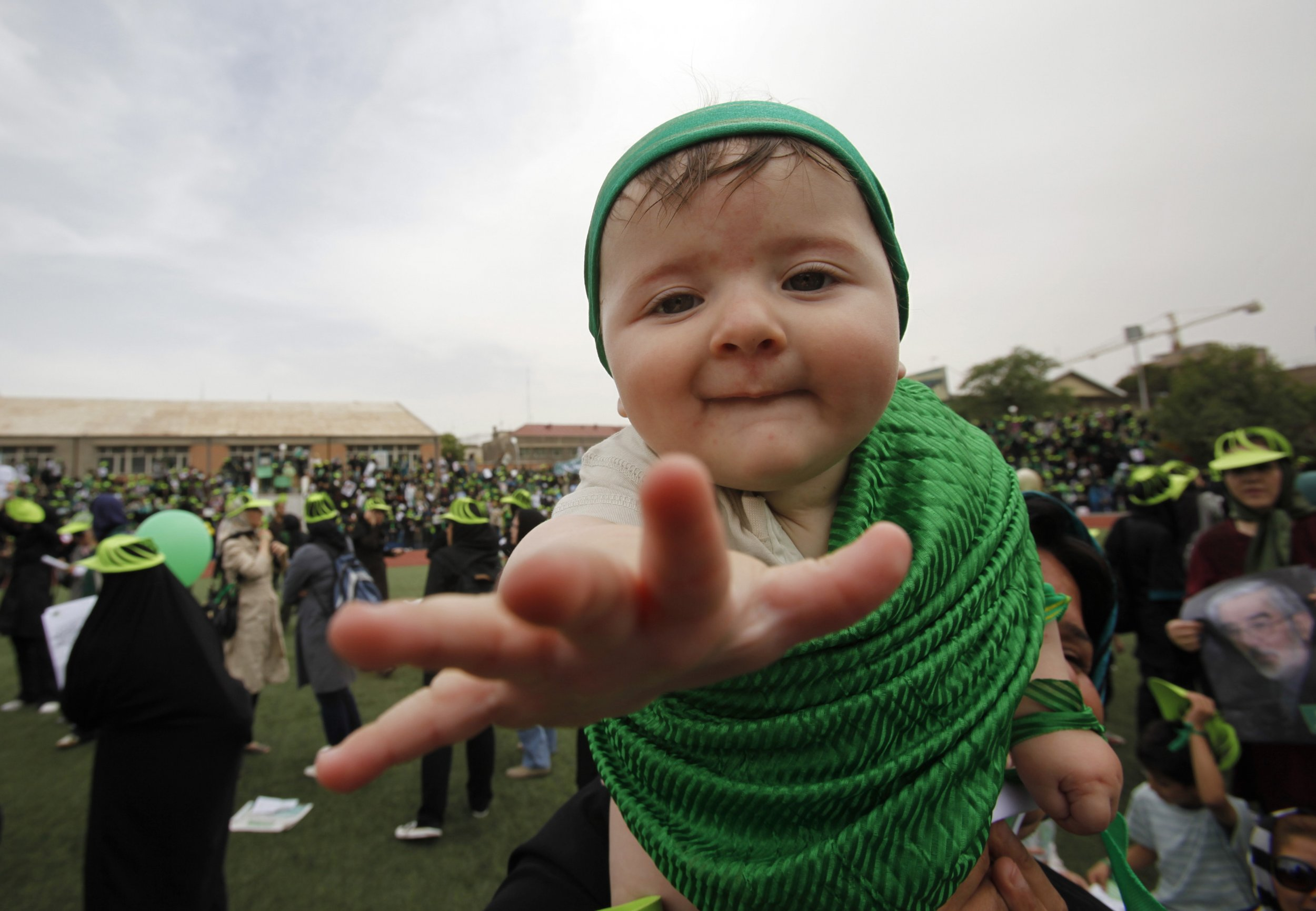 Iran baby