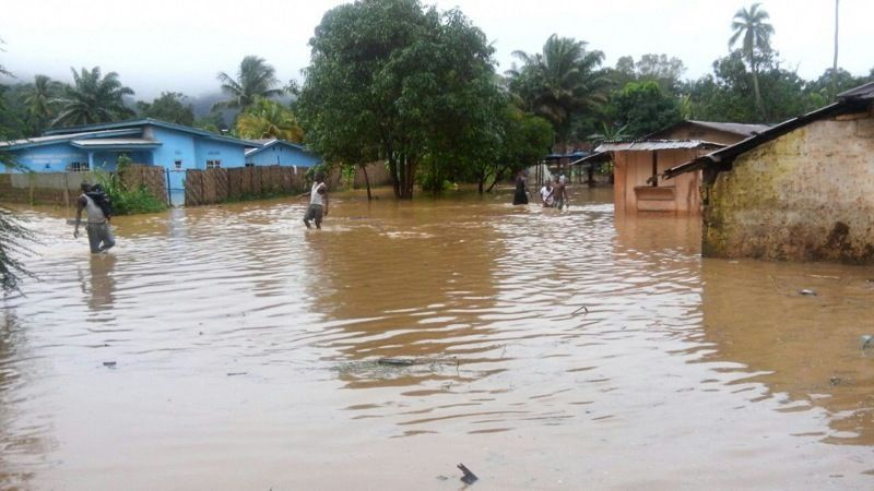 Floods in Kenema