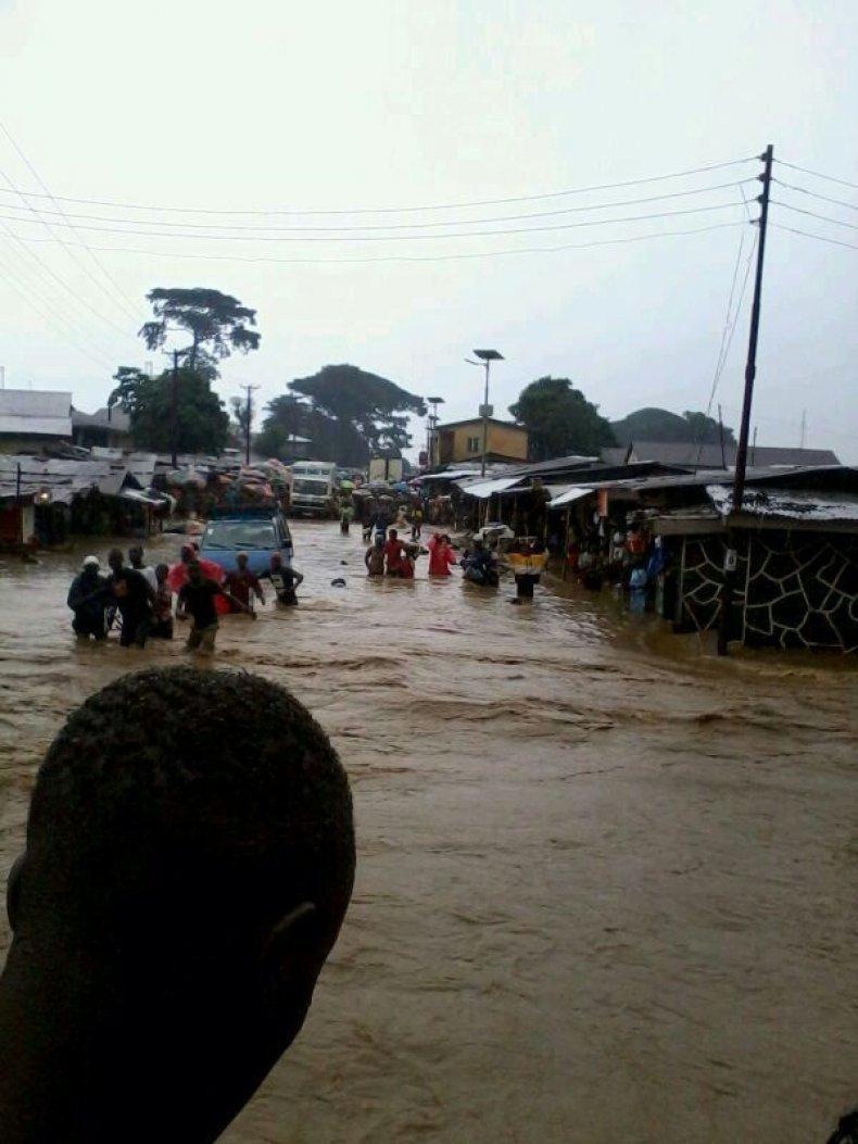 Floods in Kenema - 2