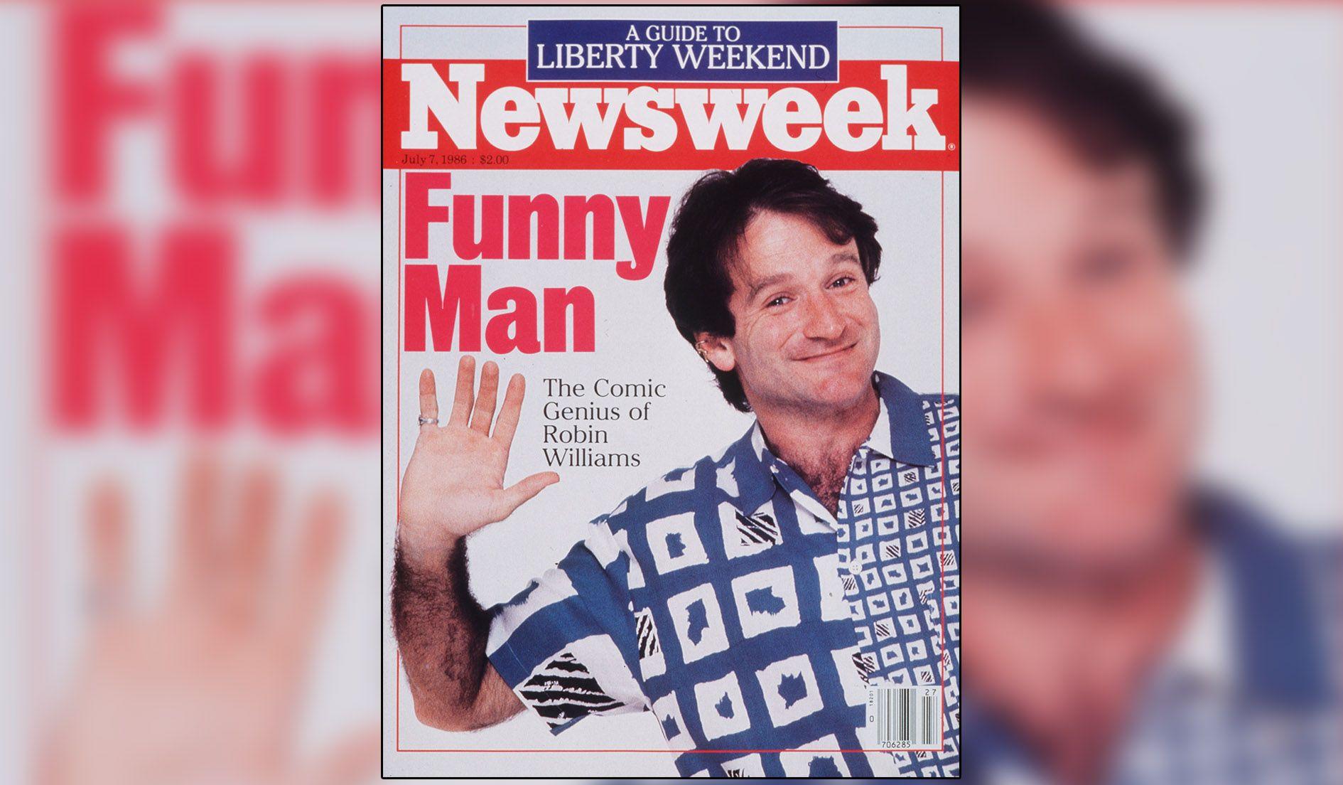 Newsweek Has Jack Nicholson Moment >> King Of Comedy Newsweek S 1986 Profile Of Robin Williams