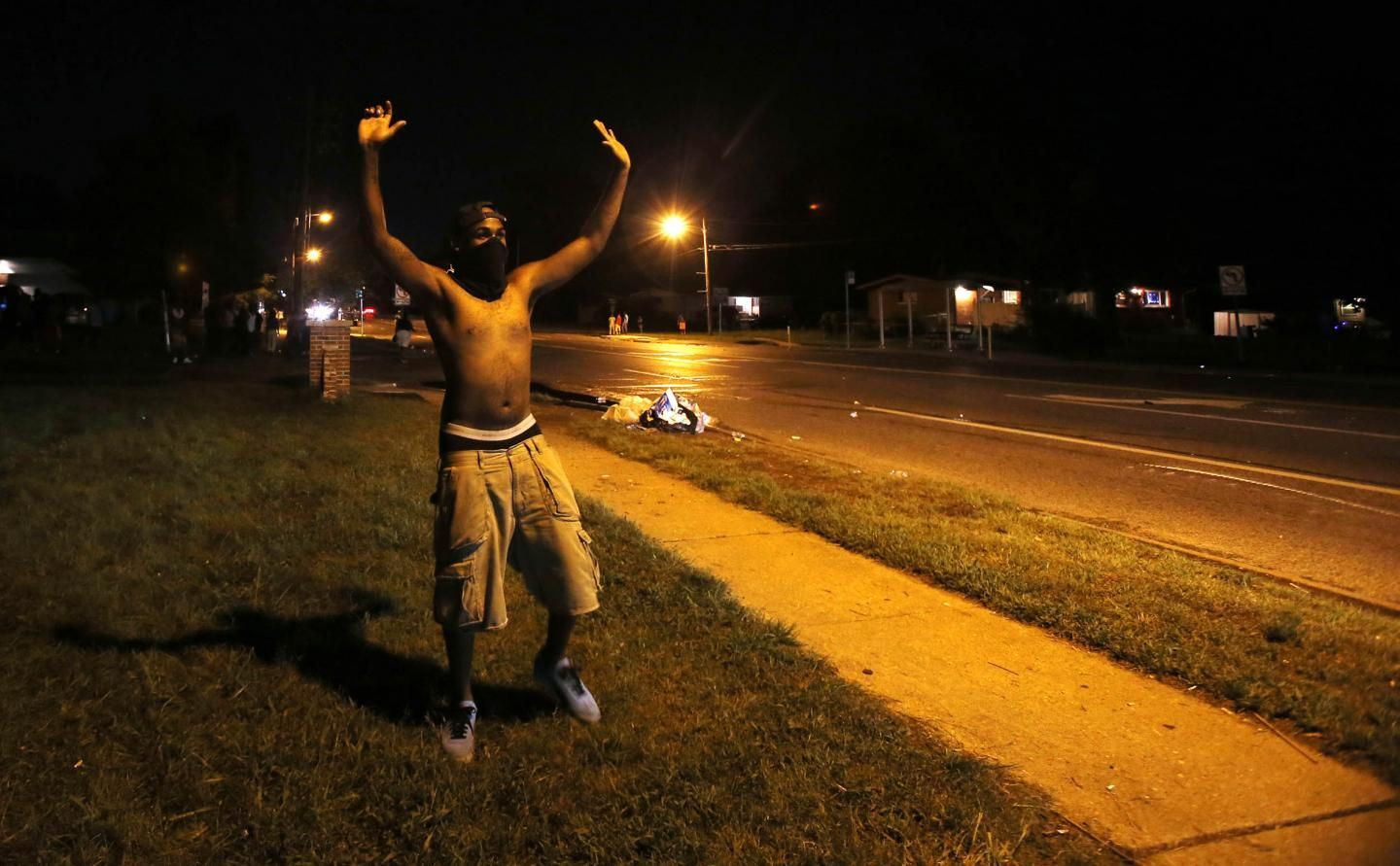 photos ferguson missouri looks like a war zone