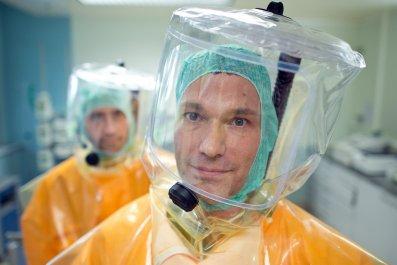 Ebola drill