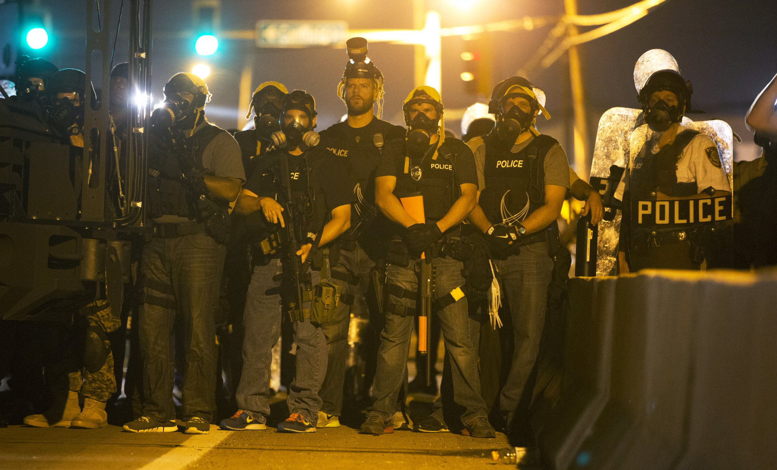 Another Police Shooting in Ferguson, Missouri