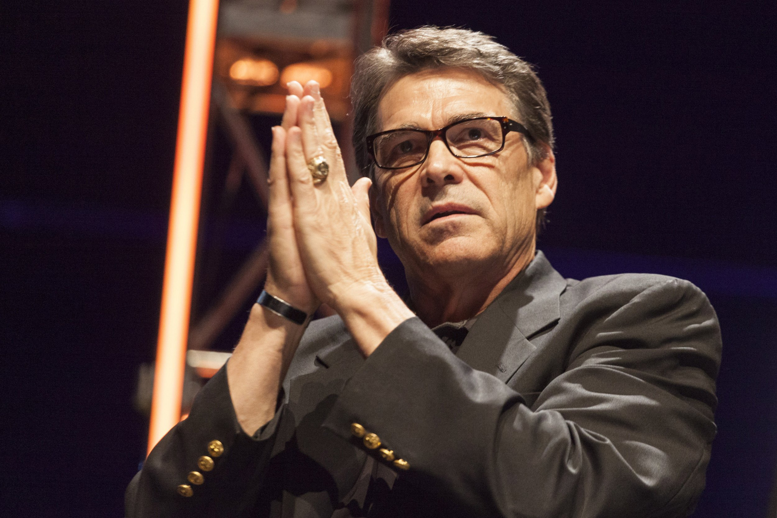Rick Perry prayer hands