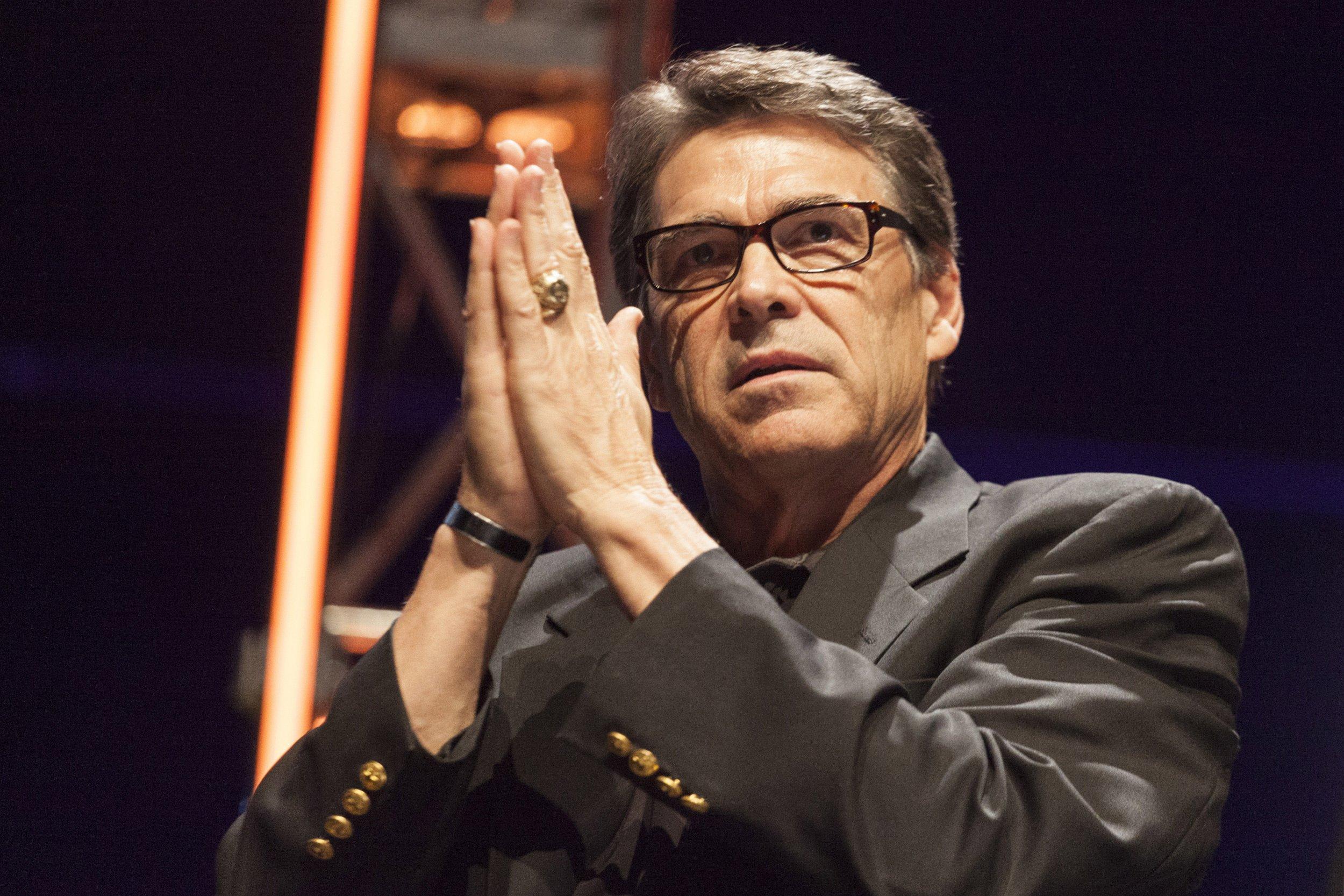 Rick Perry prayer hands