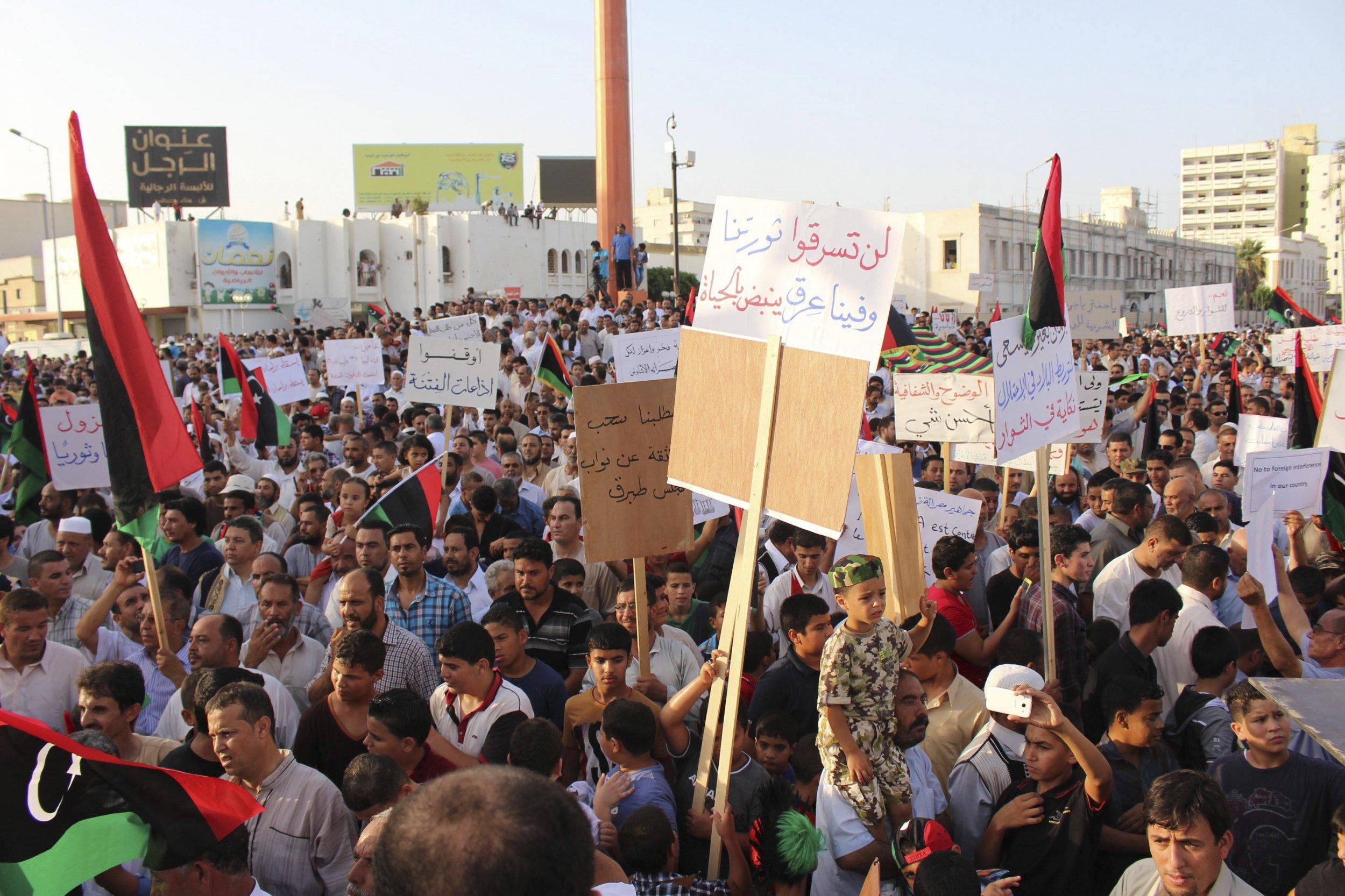 Protest libya
