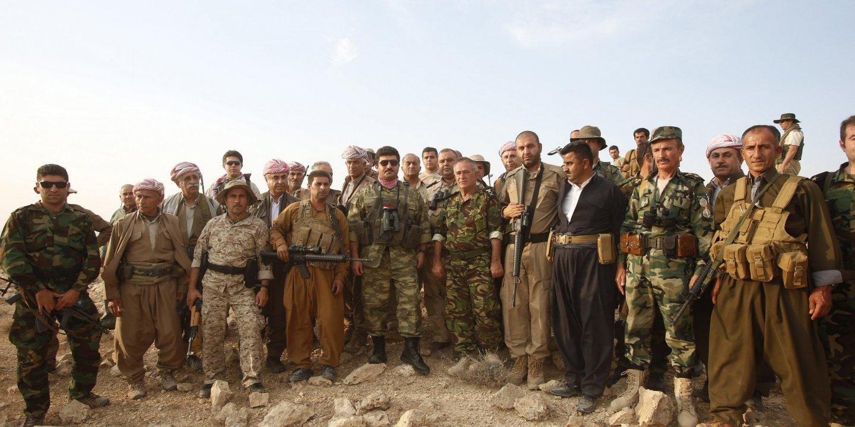 Kurdish Peshmergas