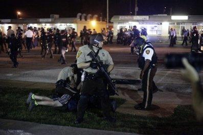 Ferguson protest aug 18