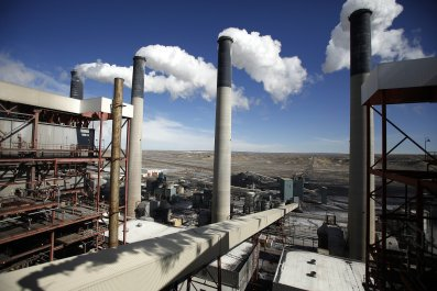 global warming coal plant epa