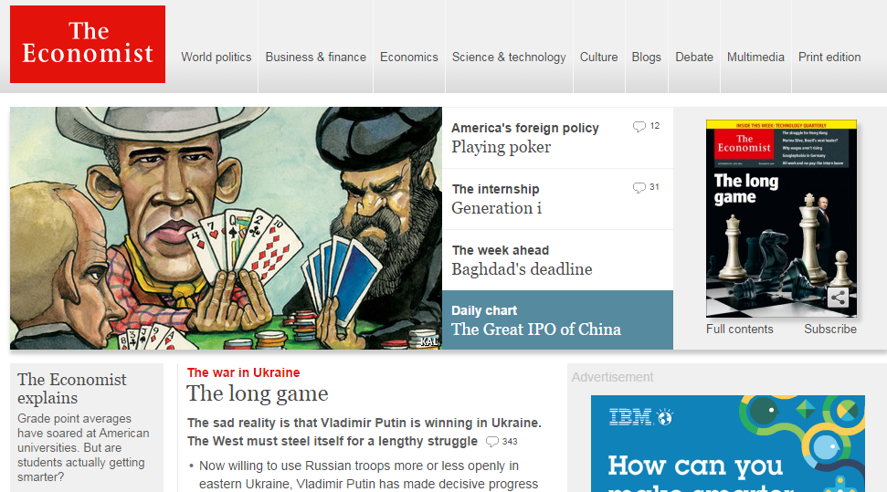 The Economist.com