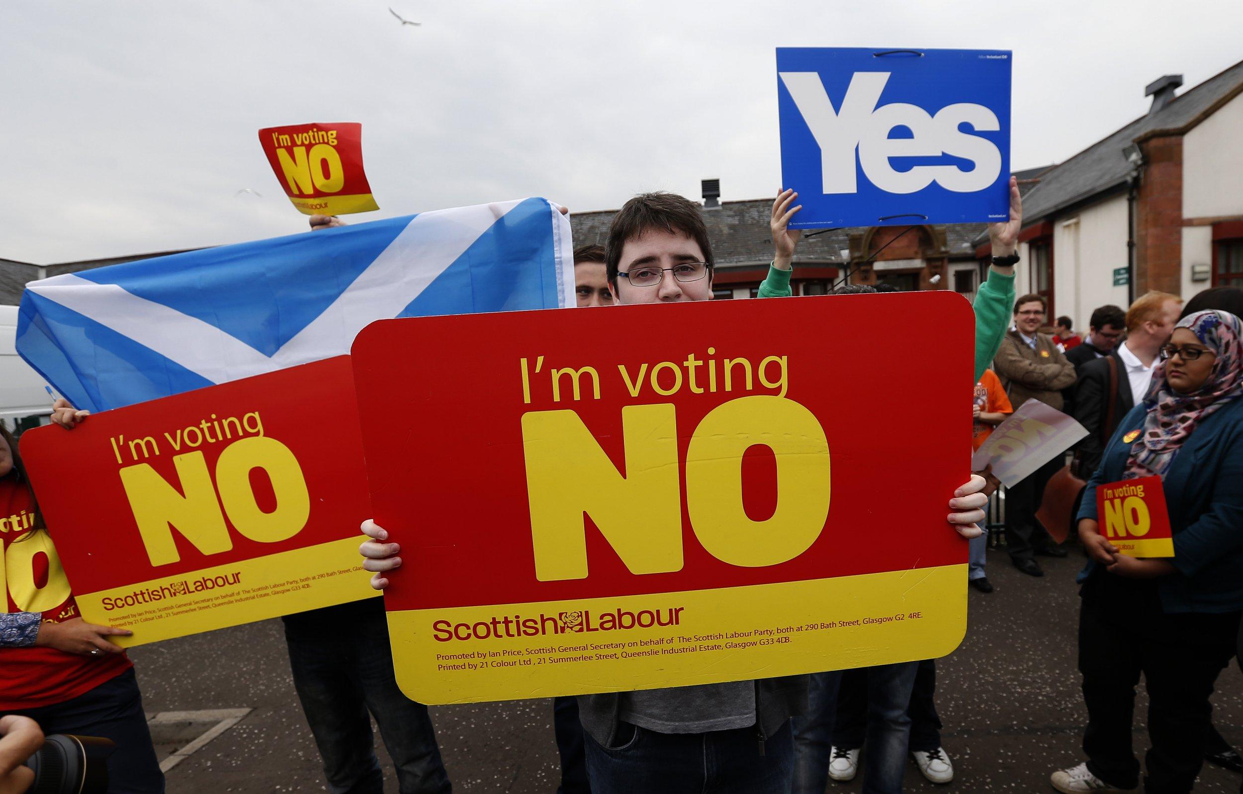 Scotland campaigners