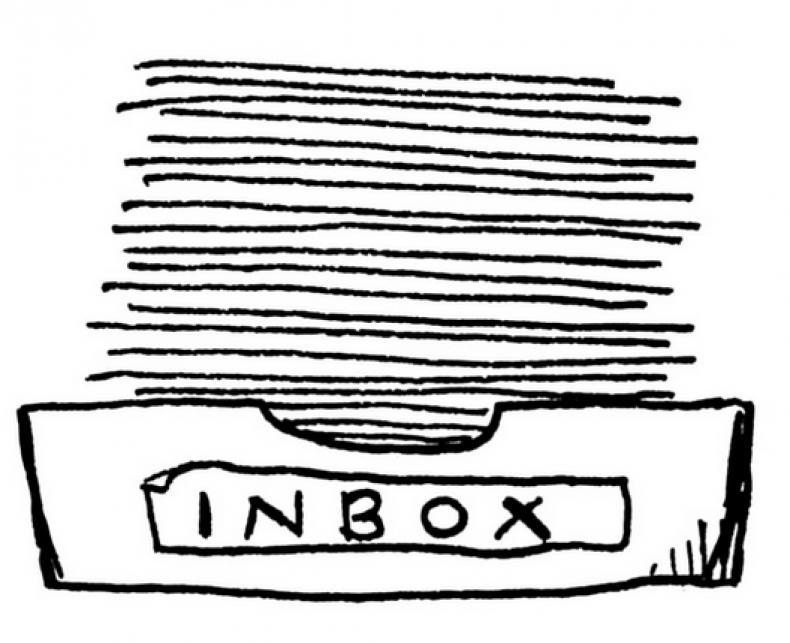 An inbox, prettier than my own