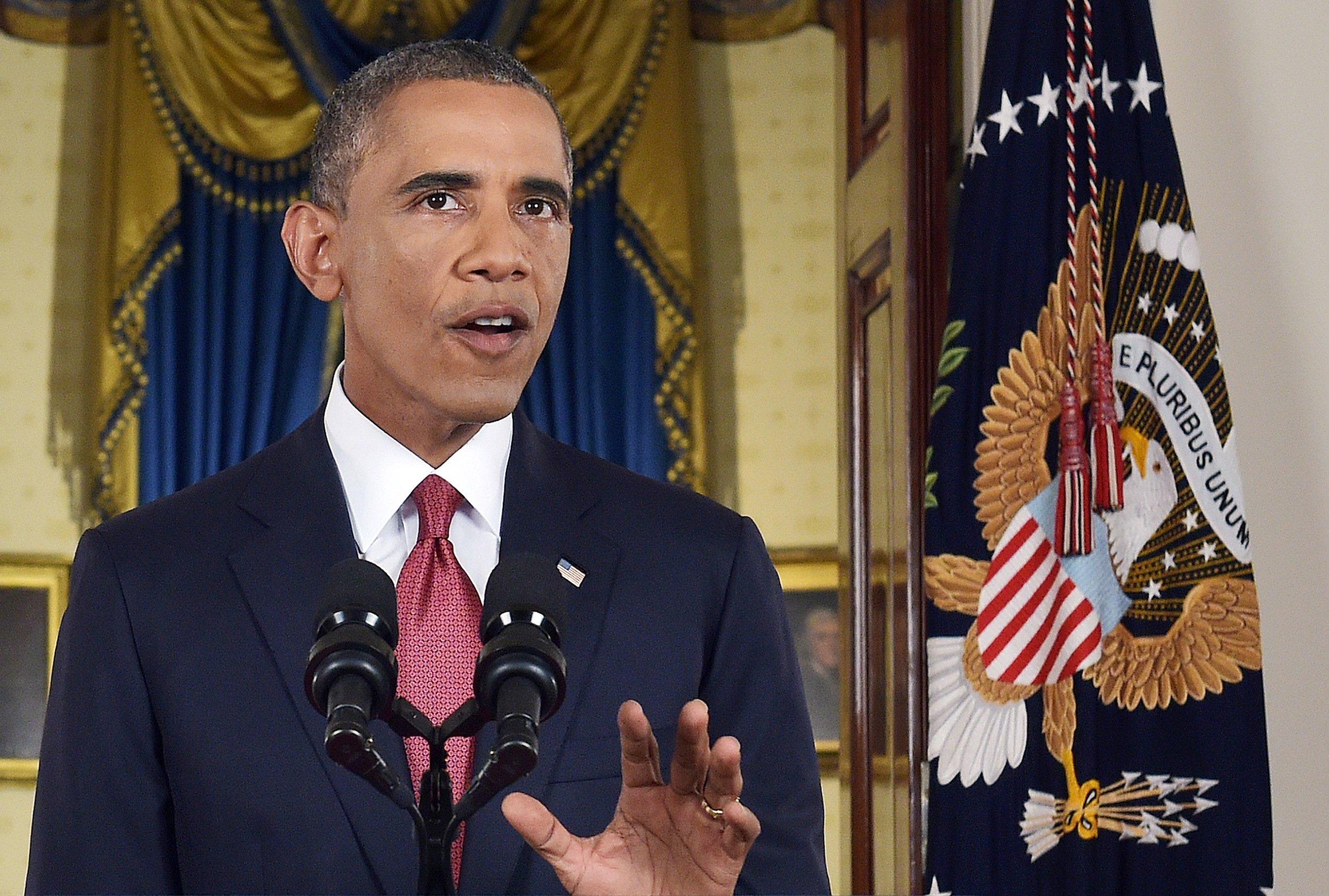 Obama addresses the nation